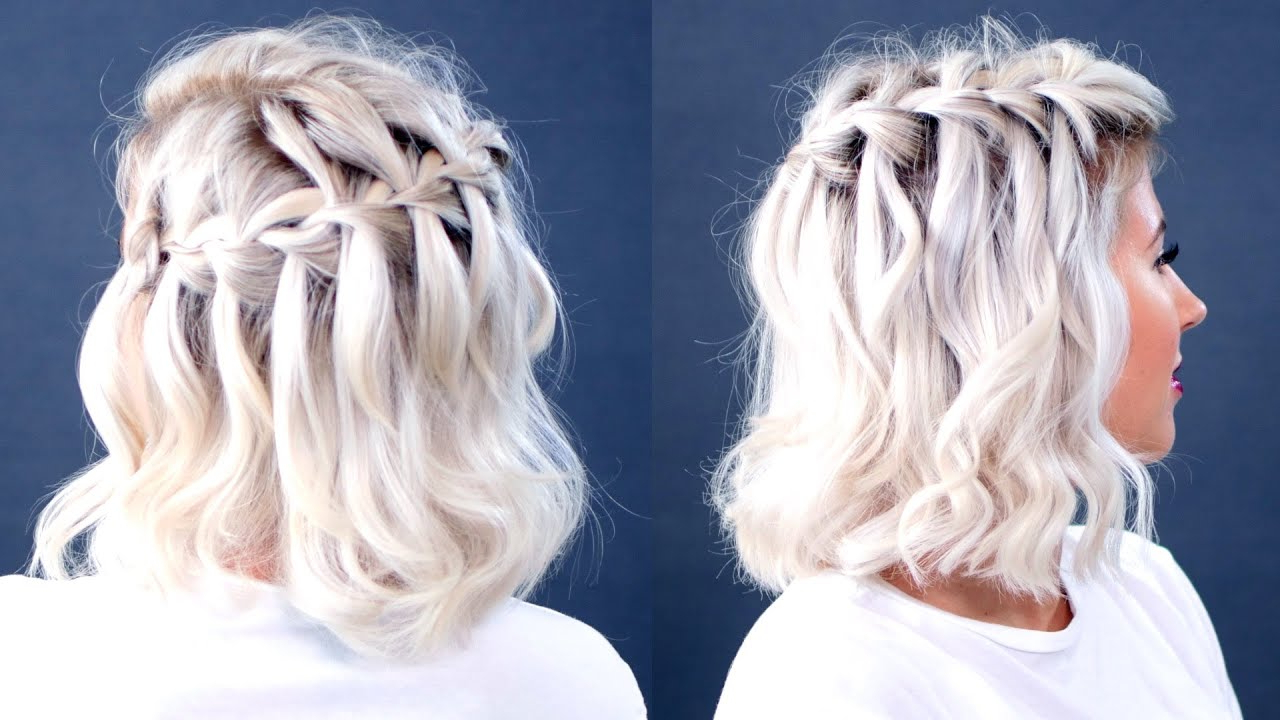 Popular High Waterfall Braided Hairstyles For 10 Easy Waterfall Braids You Can Do At Home – The Trend Spotter (View 19 of 20)