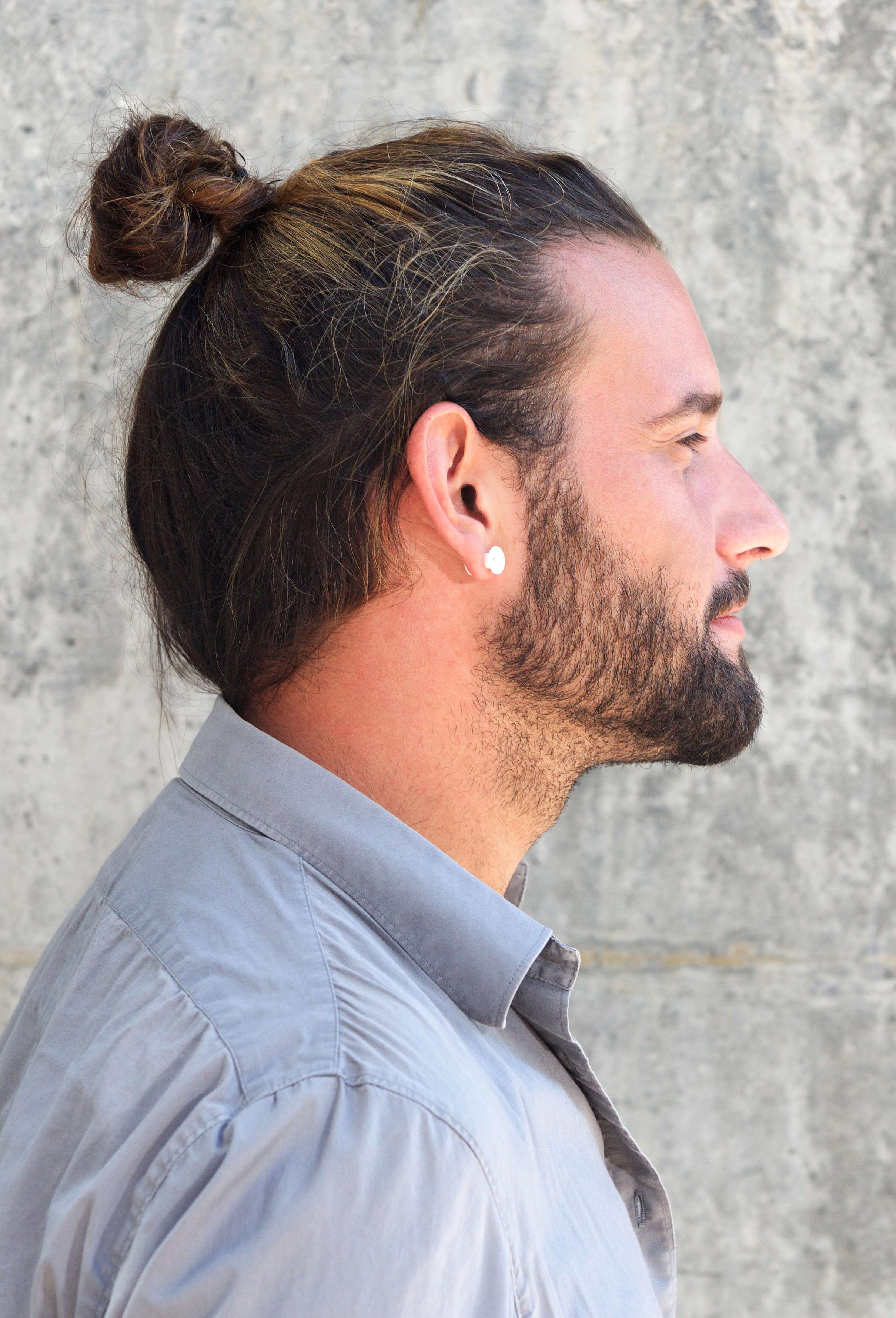 Popular Mini Buns Hairstyles Regarding 7 Types Of Man Bun Hairstyles (View 12 of 20)