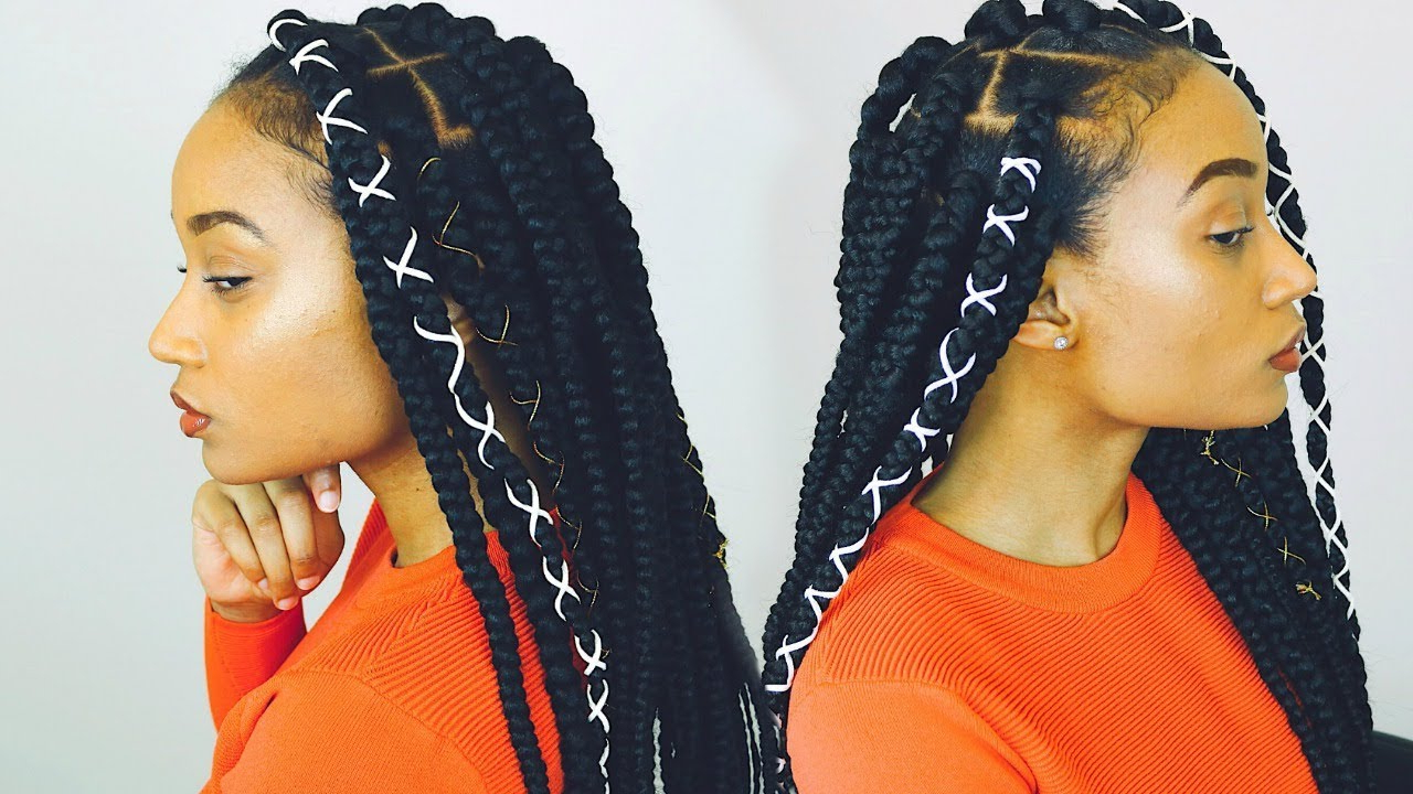 Popular Purple Passion Chunky Braided Hairstyles For Box Braids: The Complete Styling Guide For Beginners (Updated!) (View 20 of 20)