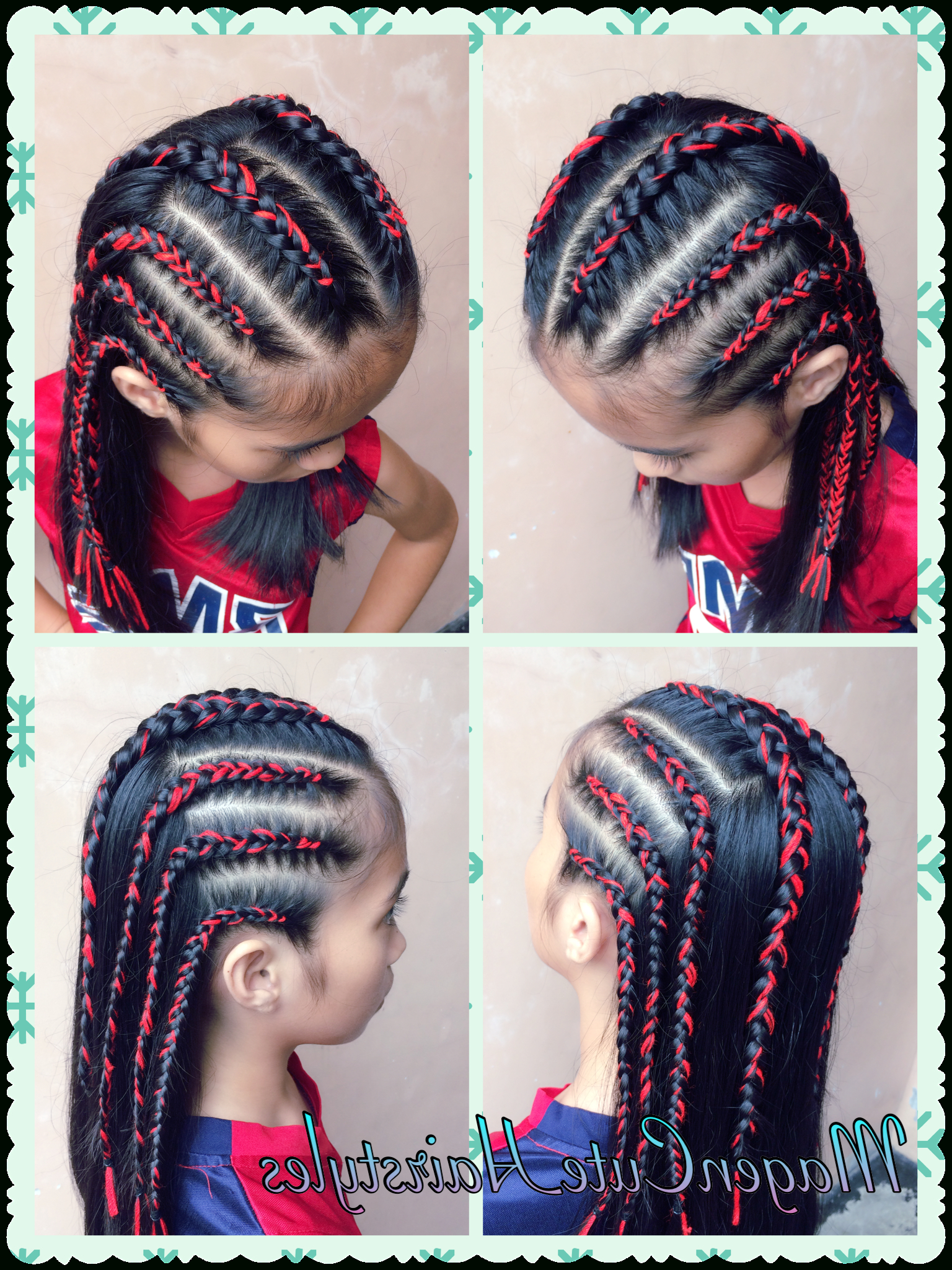 Popular Tight Green Boxer Yarn Braid Hairstyles In Dutch Yarn Braid Cornrows🎀 (Gallery 4 of 20)