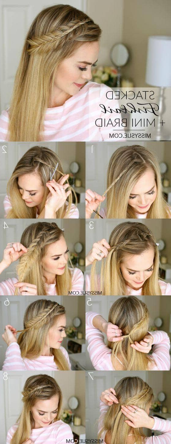 Popular Topknot Hairstyles With Mini Braid Throughout 27 Most Beautiful Braided Hairstyles (View 16 of 20)