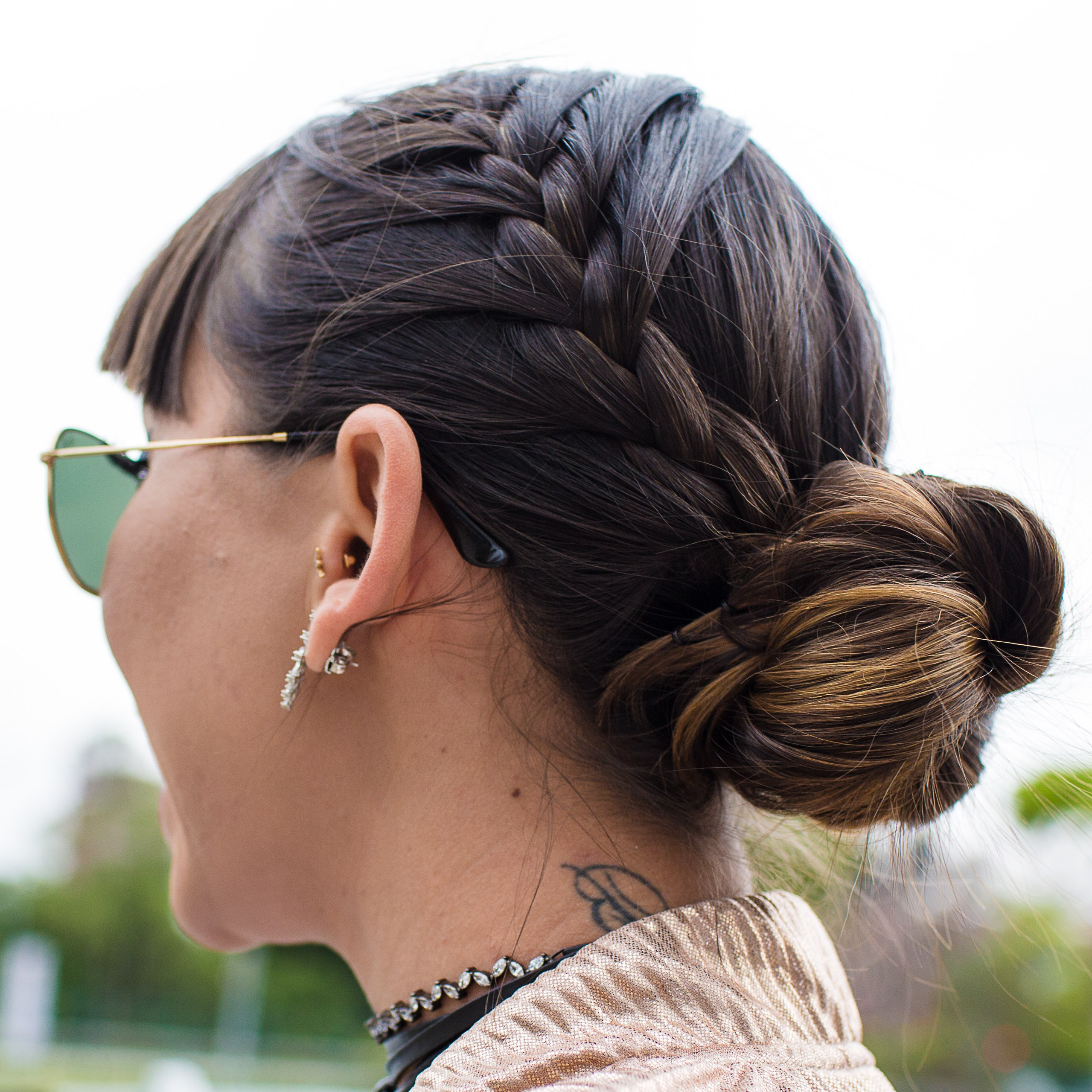 Popular Topknot Hairstyles With Mini Braid With How To Braid Hair – 10 Tutorials You Can Do Yourself (View 10 of 20)
