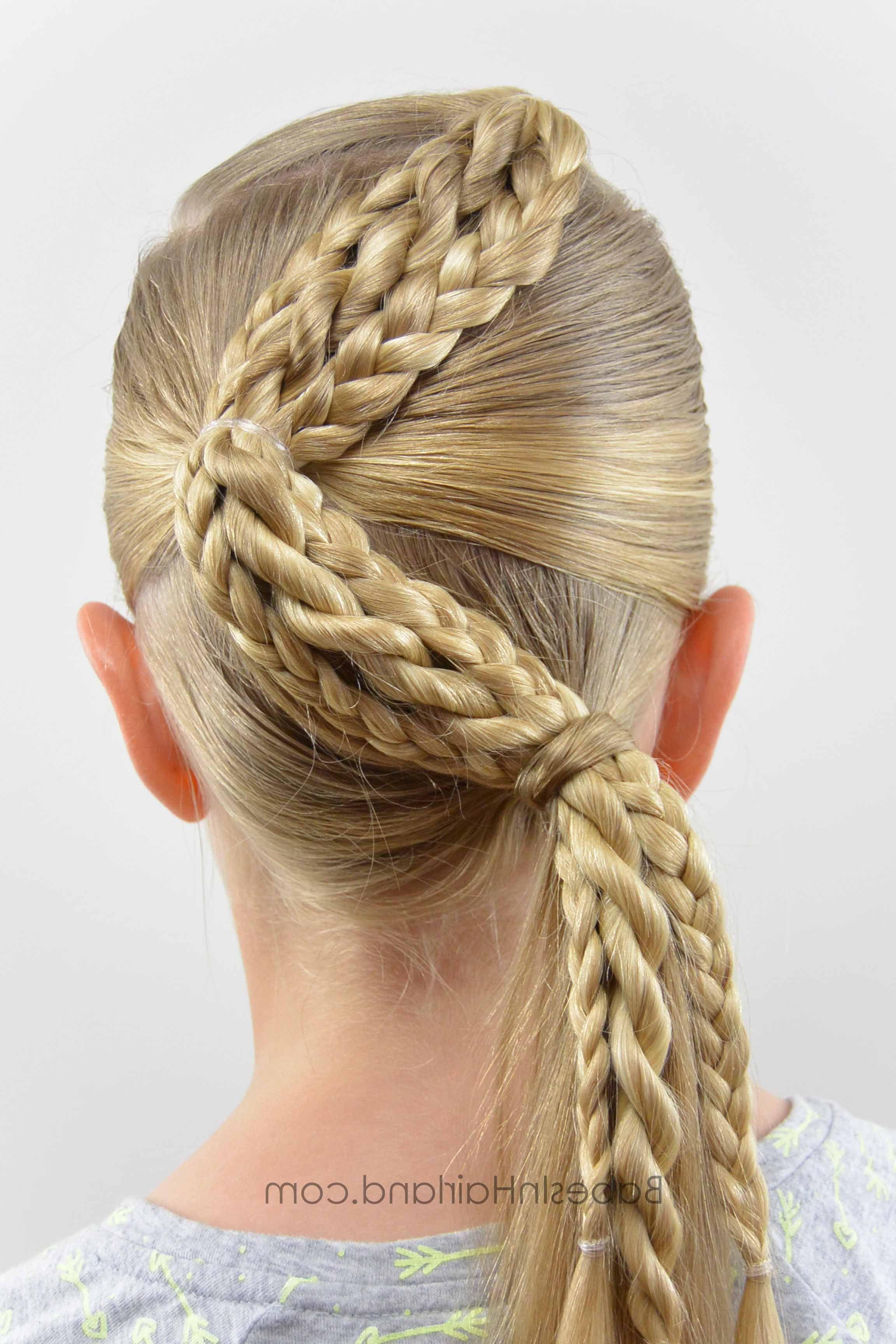 Popular Zig Zag Ponytail Updo Hairstyles Within Zig Zag Braids From Babesinhairland #hair #braids (View 15 of 20)