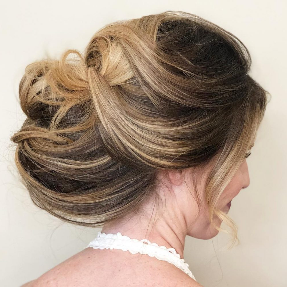 Preferred Curled Updo Hairstyles Throughout 33 Breathtaking Loose Updos That Are Trendy For (View 9 of 20)
