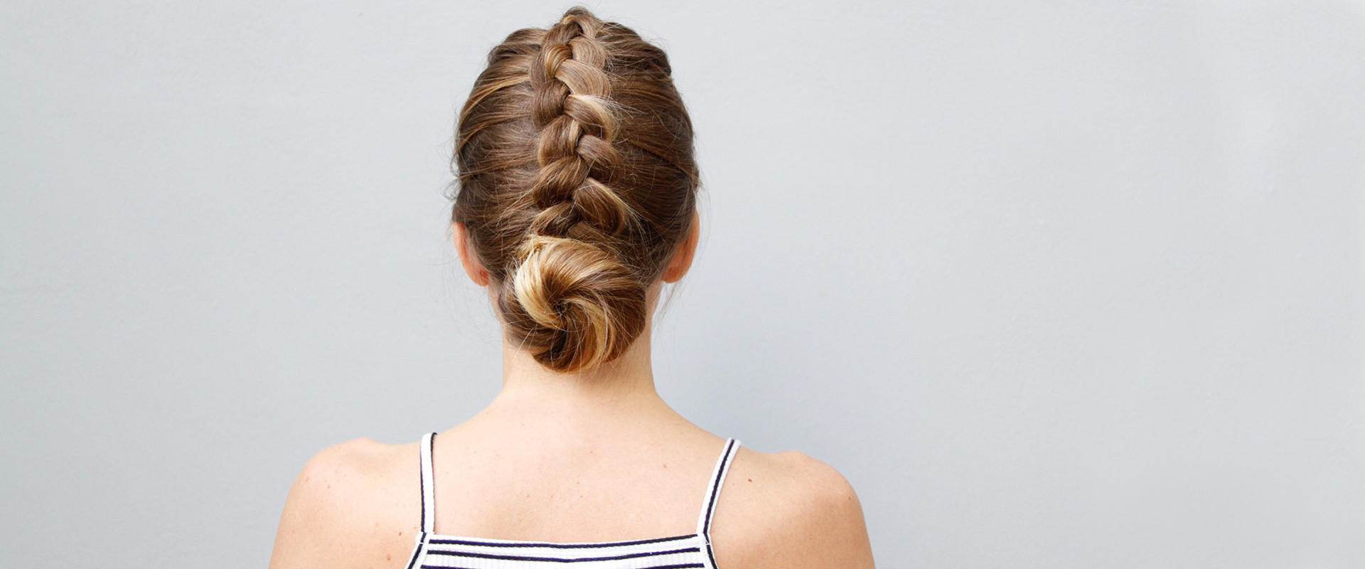 Preferred Dutch Braid Bun Hairstyles Within This Dutch Braid And Bun Updo Is As Easy As It Is Cute (Gallery 15 of 20)