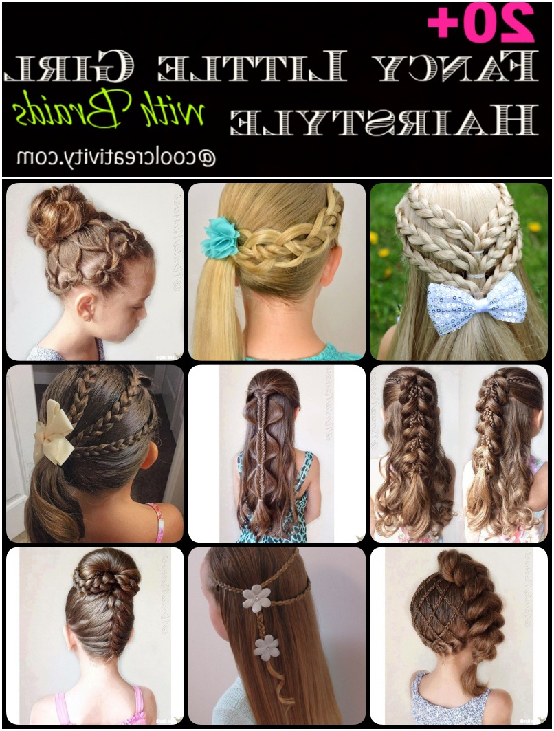 Preferred Fancy Braided Hairstyles In 20+ Fancy Little Girl Braids Hairstyle (View 14 of 20)