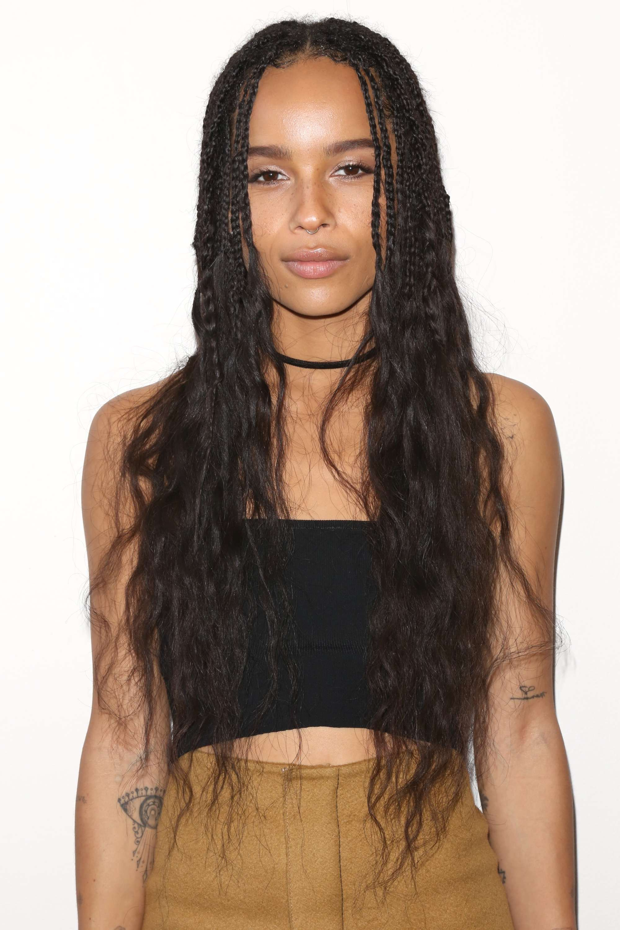 Preferred Micro Braid Hairstyles With Loose Curls With Regard To 11 Celeb Approved Ways To Rock Loose Box Braids In (View 11 of 20)