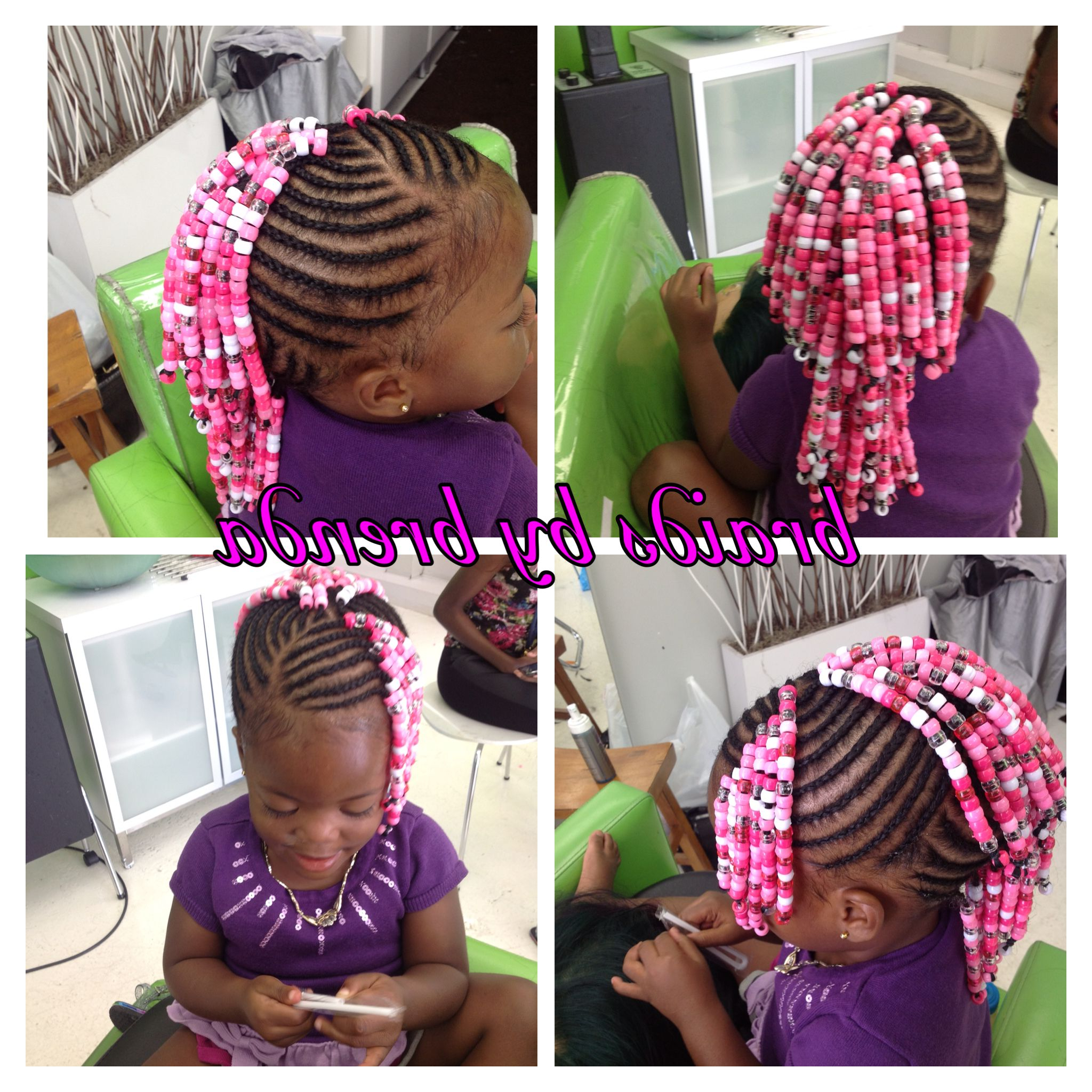 Preferred Mohawk Braided Hairstyles With Beads Inside Beaded Cornrows (mohawk With Side Bangs) (View 4 of 20)