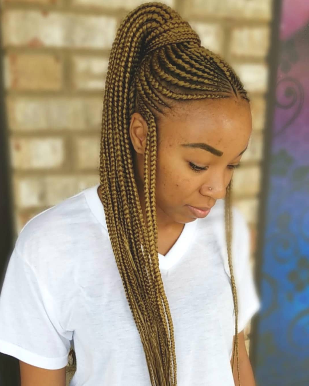 Preferred Straight Blonde Tree Micro Braid Hairstyles With 96 Tree Braid Hairstyles That Will Get You Back To Nature (Gallery 9 of 20)