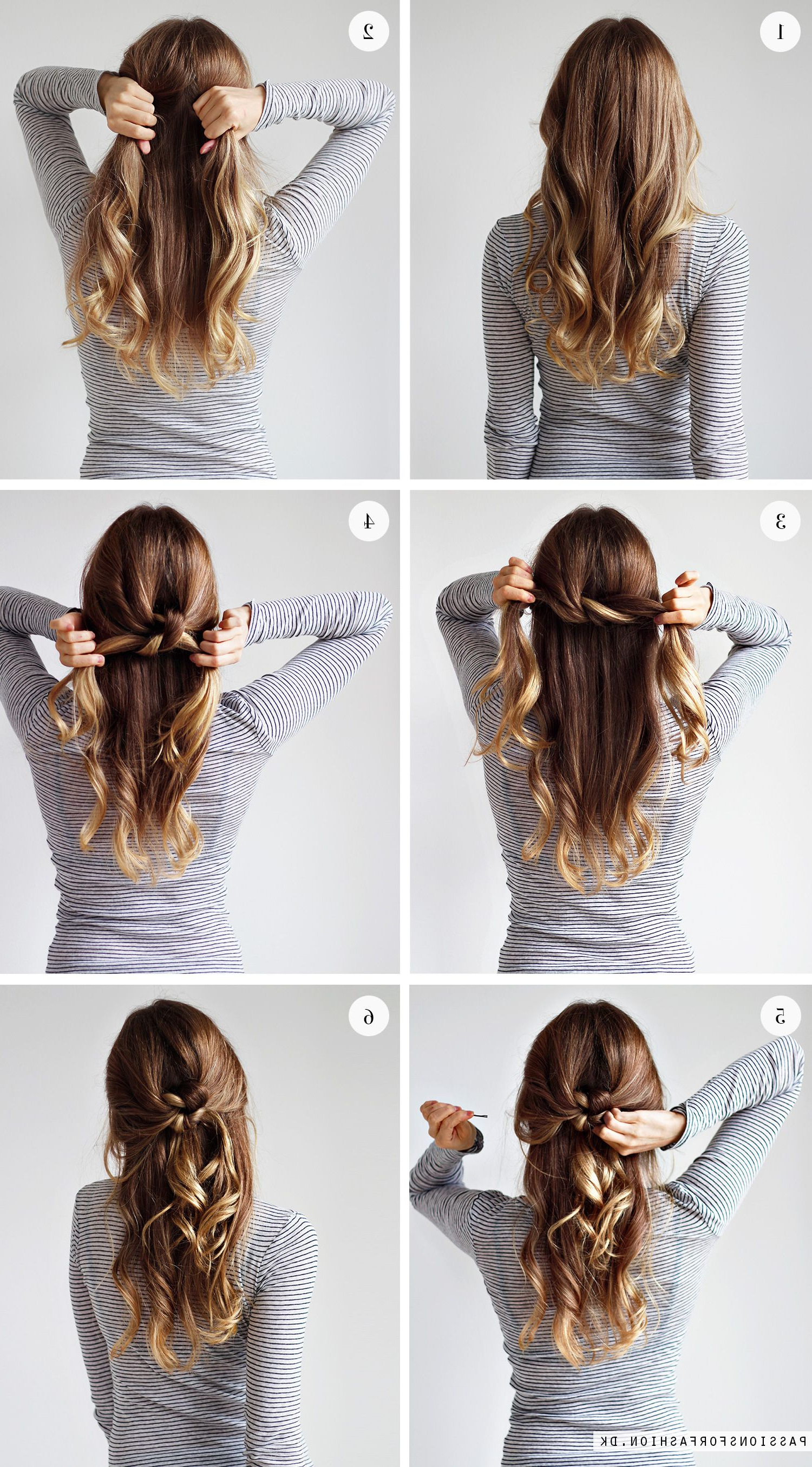Preferred Tie It Up Updo Hairstyles Inside Weekly Hairstyle: Tie A Knot (Christina Dueholm) (View 15 of 20)