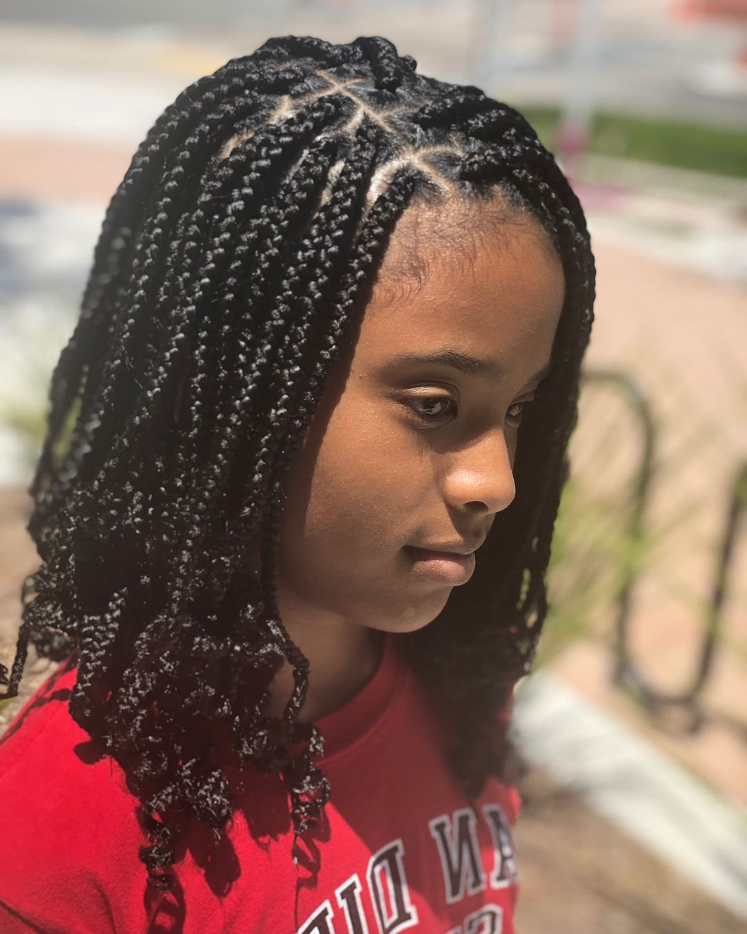 Protective Style • Box Braids Lasts • 4 6 Weeks (with Proper Throughout 2019 Dookie Braid Bump Hairstyles (View 8 of 20)
