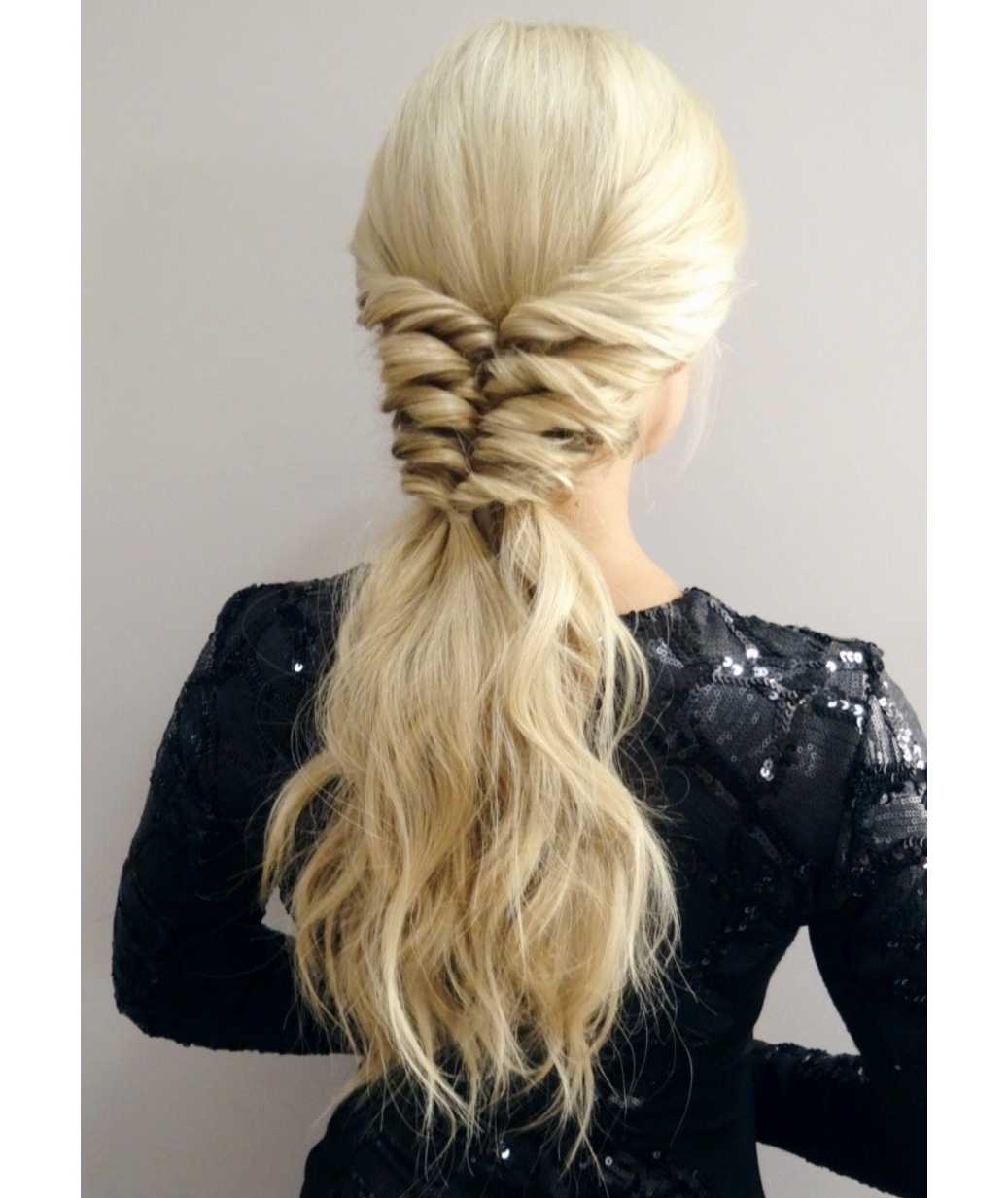 Real Simple Intended For Favorite Wrapped Ponytail Hairstyles (View 14 of 20)