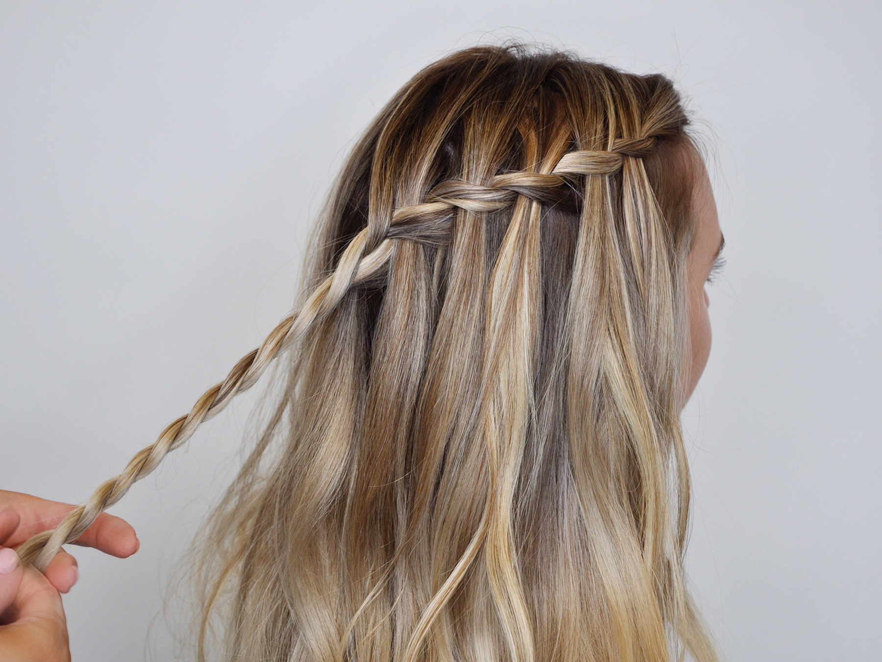 Real Simple Regarding Trendy High Waterfall Braided Hairstyles (View 20 of 20)