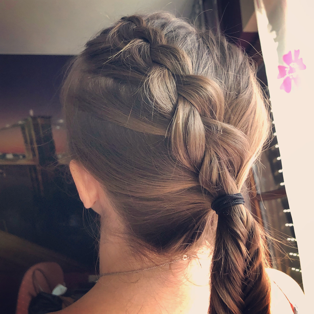 Recent Criss Cross Braid Bun Hairstyles Throughout 109 Amazing Ways That You Can Wear A Dutch Braid – Prochronism (View 17 of 20)