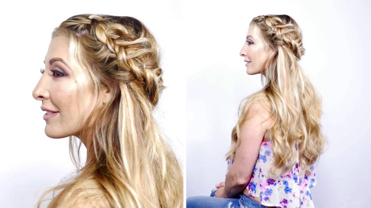 Recent Fishtail Crown Braided Hairstyles For Fishtail Crown Braid – Hidden Crown (View 15 of 20)