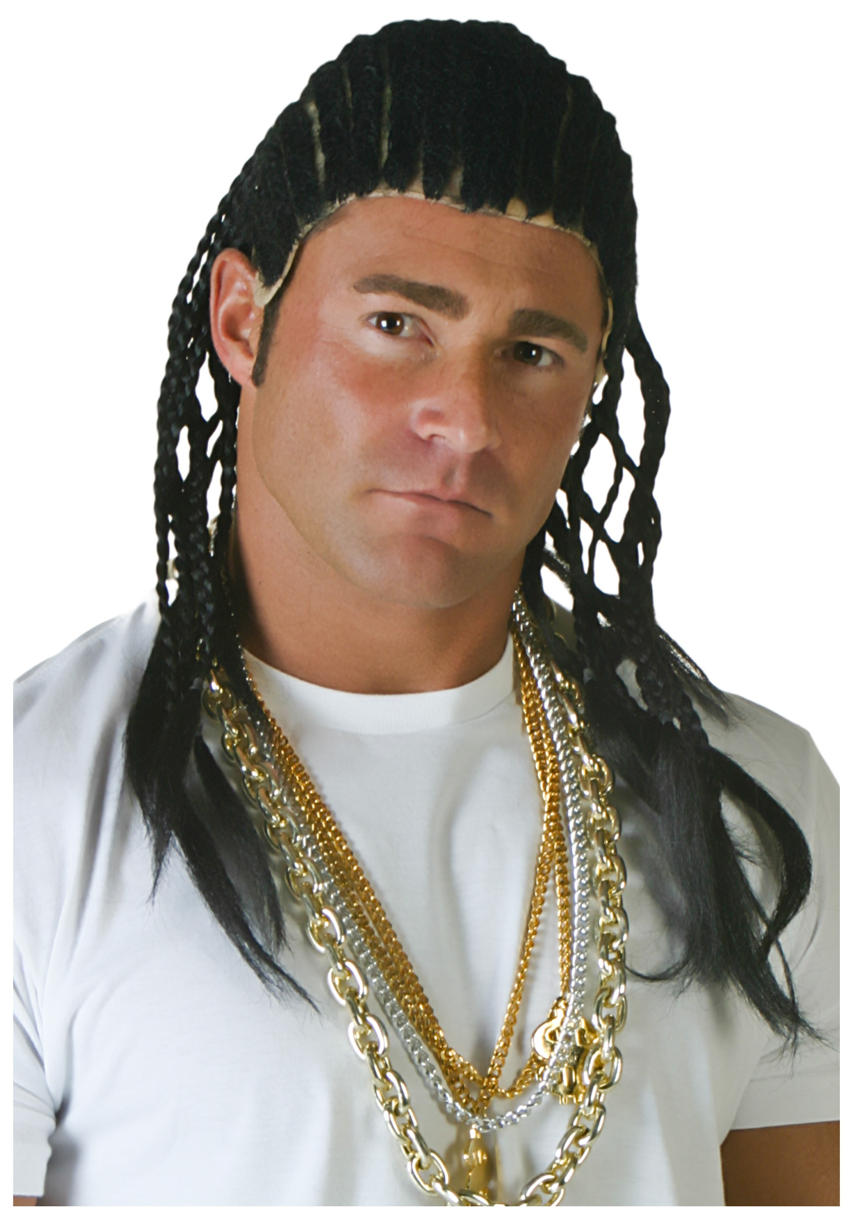Recent Gold Toned Skull Cap Braided Hairstyles With Corn Row Wig (View 18 of 20)
