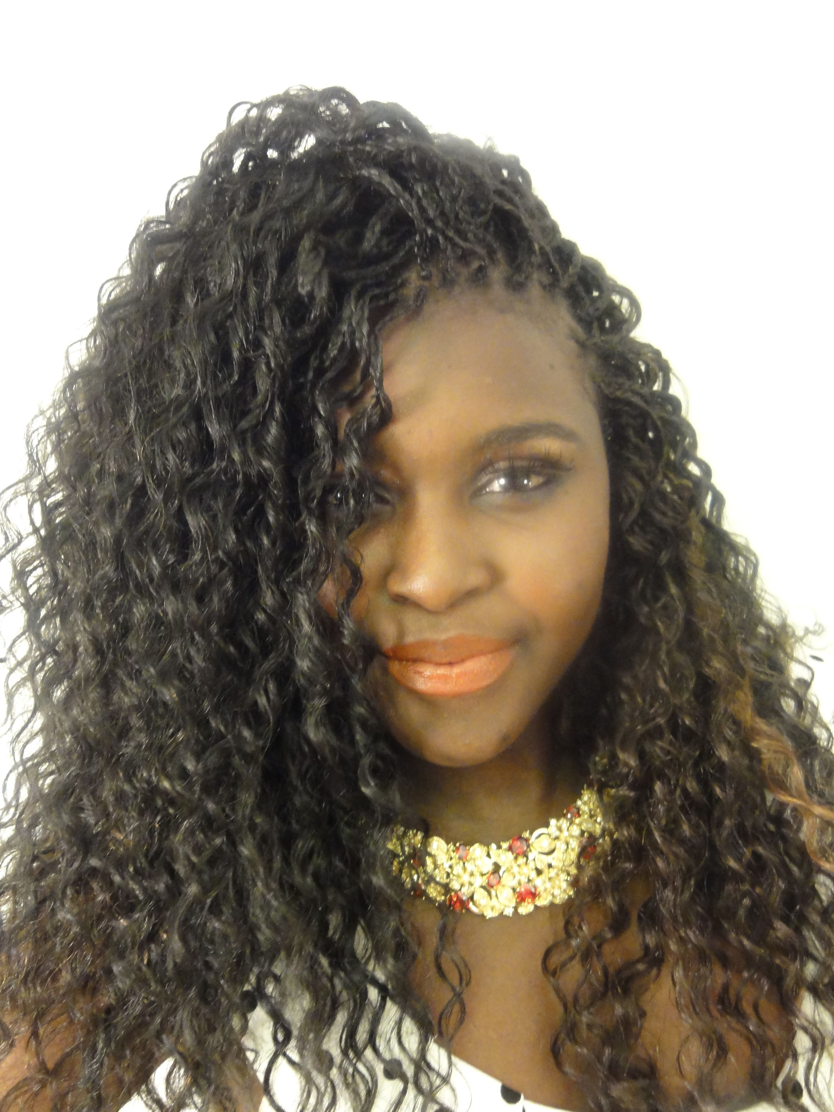 Recent Individual Micro Braids With Curly Ends For Pin On My Hurrs (View 3 of 20)