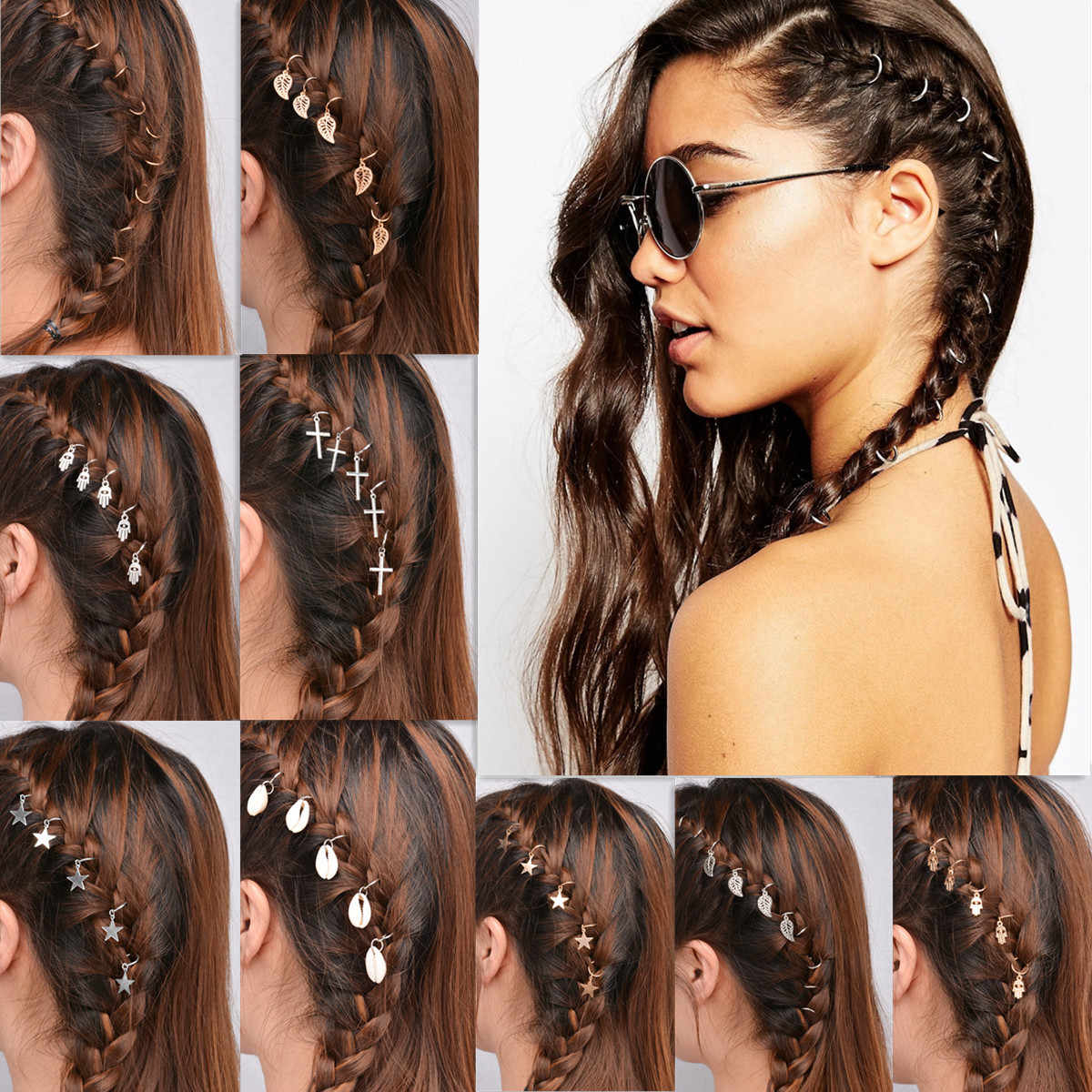 Recent Puka Shell Beaded Braided Hairstyles Inside Detail Feedback Questions About New Fashion Sea Shell (View 7 of 20)