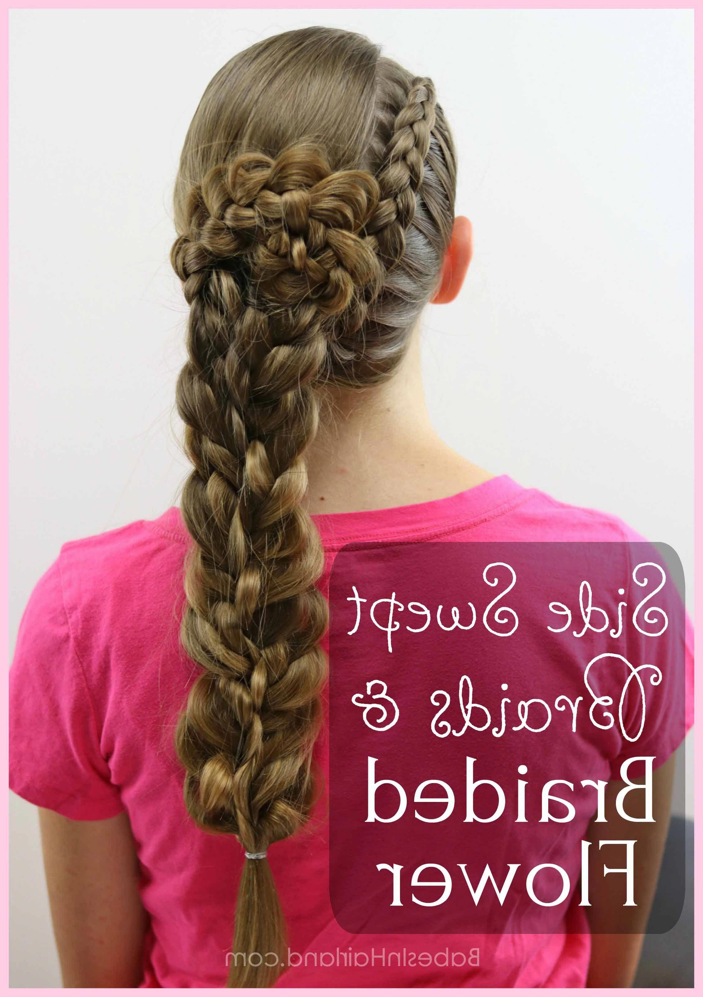 Recent Side Swept Carousel Braided Hairstyles Within Get An Edgy As Well As Elegant Look With This Side Swept (View 4 of 20)