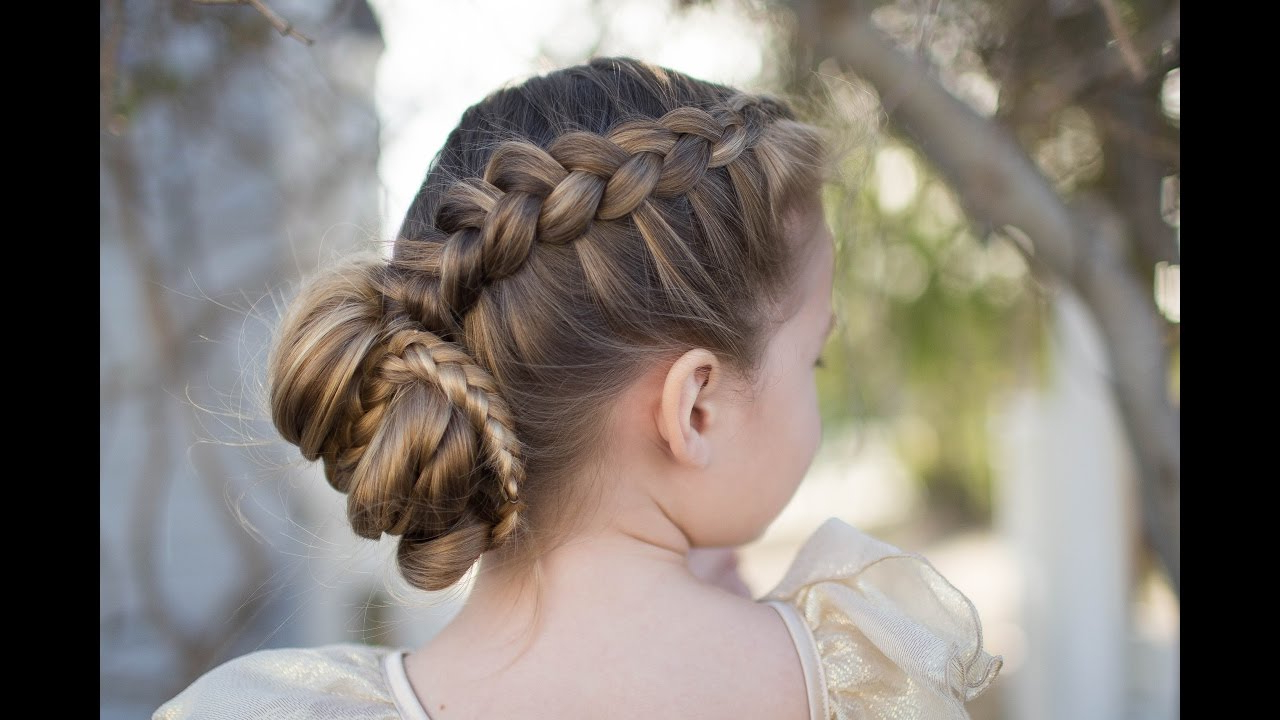 Recent Stacked Buns Updo Hairstyles With Dutch Braided Bun (View 7 of 20)