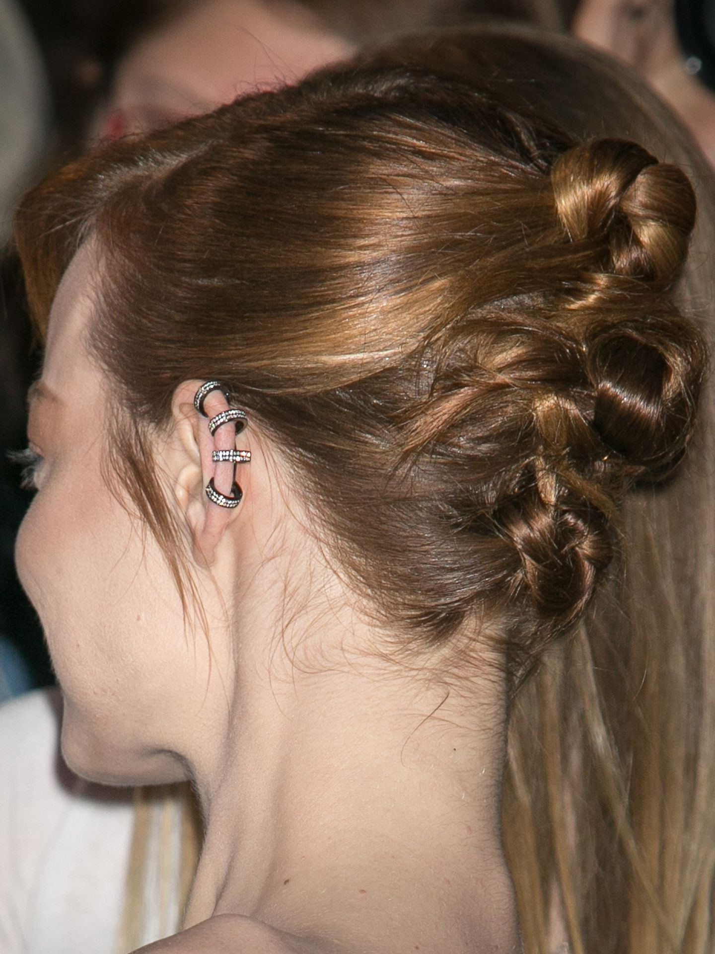 Recent Stacked Mini Buns Hairstyles Inside 10 New Bun Hairstyles – Top Knot Ideas (View 19 of 20)