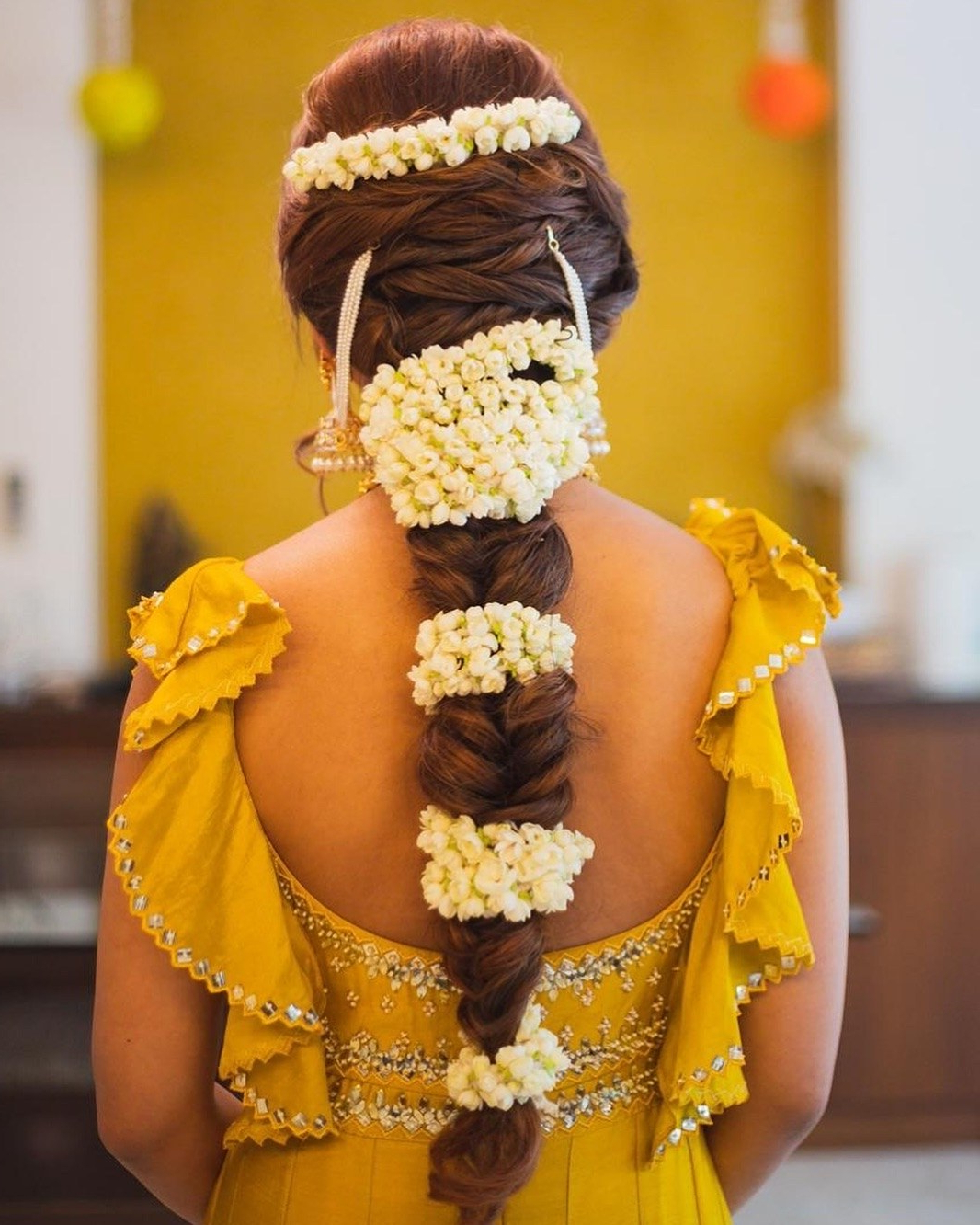 Recent Traditional Halo Braided Hairstyles With Flowers With Assets.vogue (View 20 of 20)