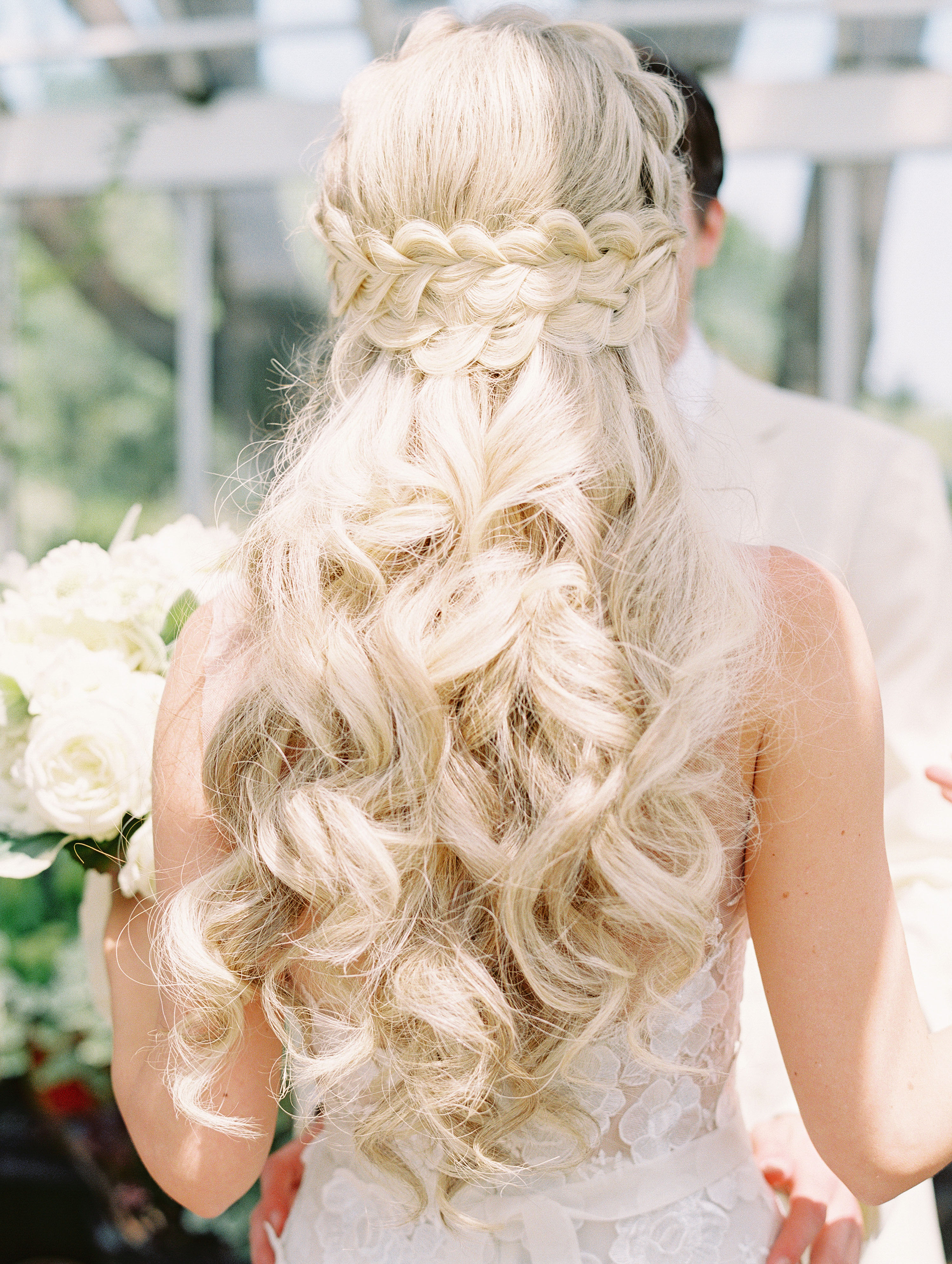 Recent Wedding Braided Hairstyles With Regard To 37 Pretty Wedding Hairstyles For Brides With Long Hair (View 17 of 20)
