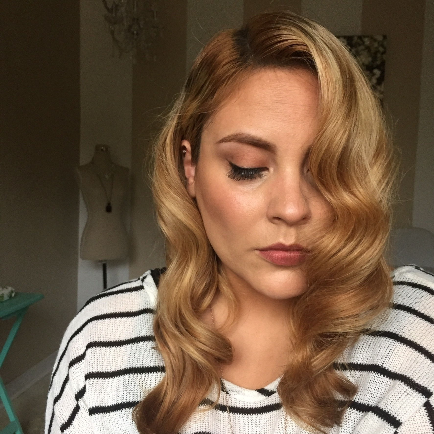Retro Waves · How To Style A Curly Hairstyle / Wavy In Recent Retro Curls Hairstyles (View 17 of 20)