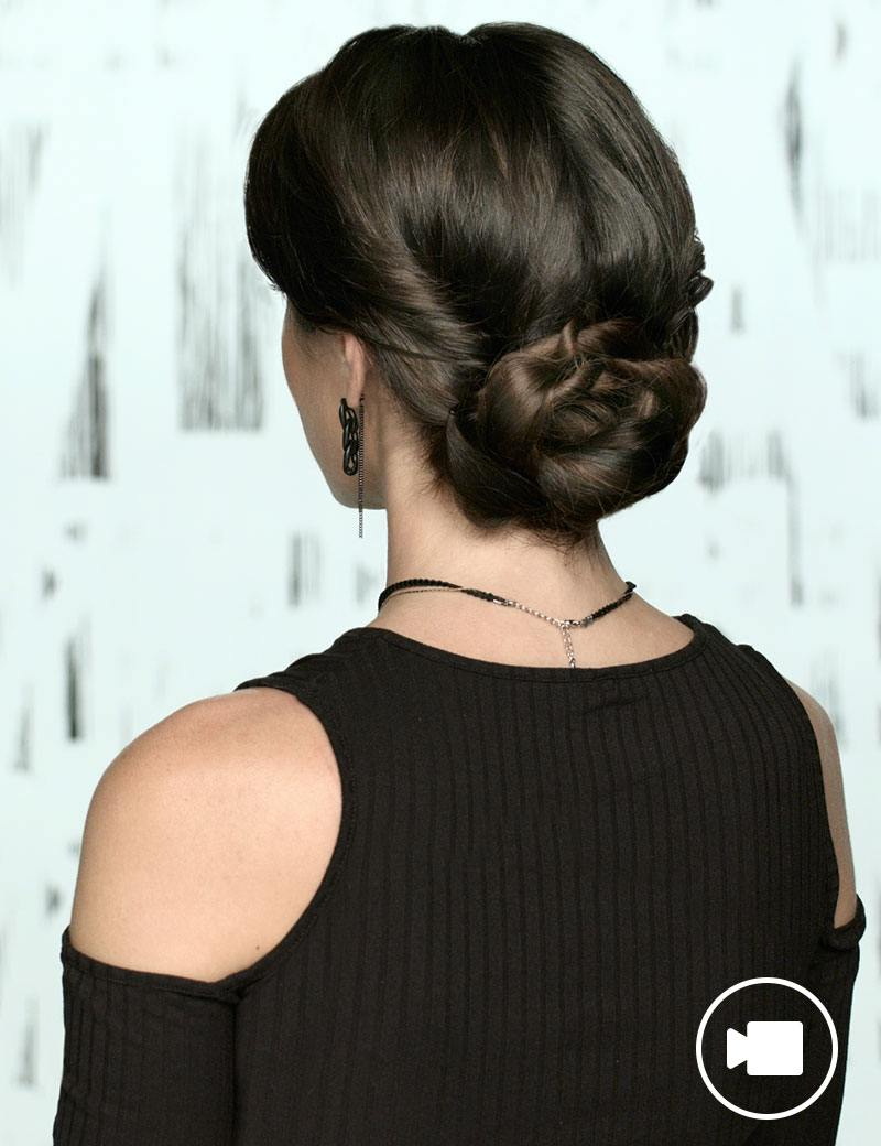 Rope Twist Bun: Emmy's Red Carpet Hair (View 18 of 20)