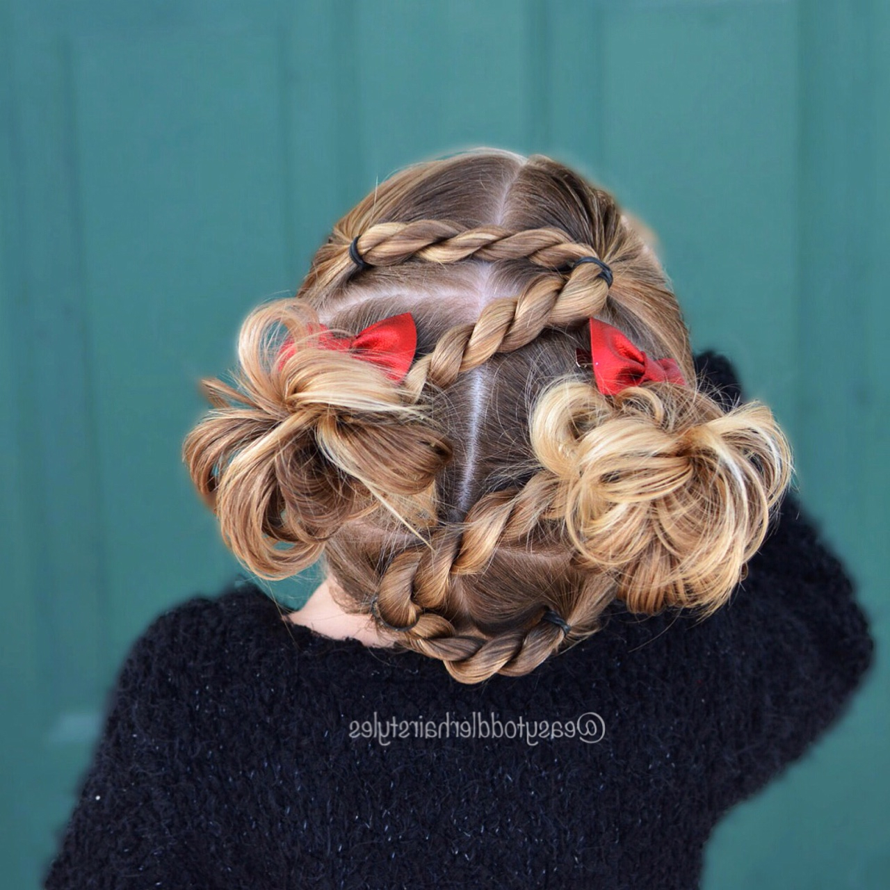 Rope Twist Hairstyle – Zigzag Toddler Hairdo, Easy And Cute! With Regard To Best And Newest Easy French Rope Braid Hairstyles (View 16 of 20)