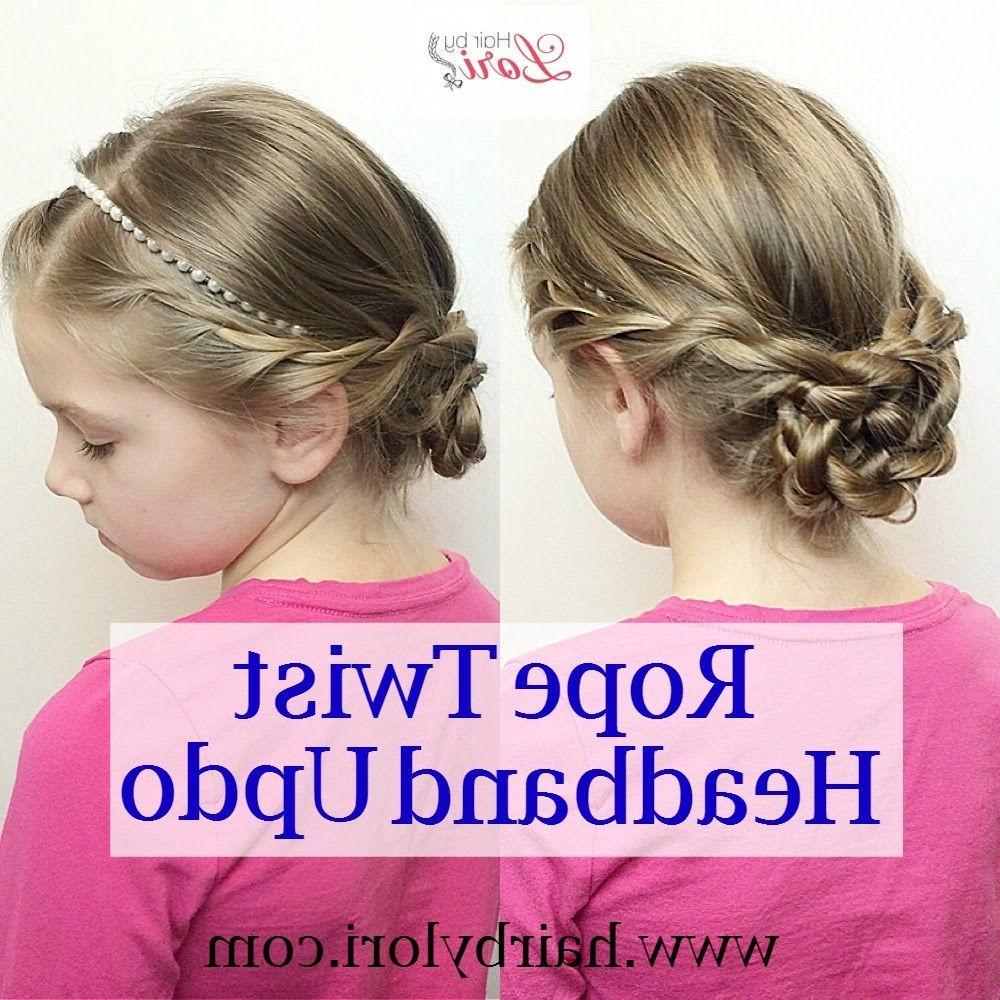 Rope Twist Headband Updo (View 17 of 20)