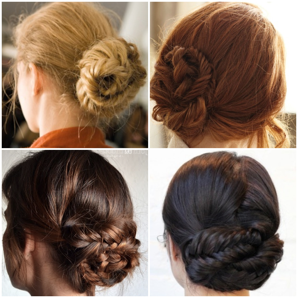 Sassy Braided Updo Designs You Won't Miss – Pretty Designs Pertaining To Famous Fishtail Braid Updo Hairstyles (View 12 of 20)