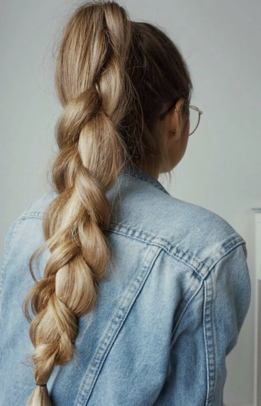 School Hairstyle: High 3 Strand Braid, Neat And Cute This Pertaining To Famous Three Strand Pigtails Braided Hairstyles (View 18 of 20)