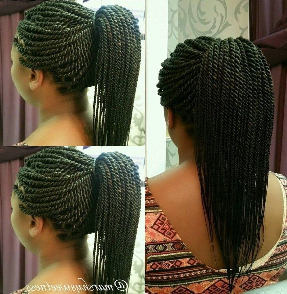 Senegalese Twists – 60 Ways To Turn Heads Quickly (View 6 of 20)