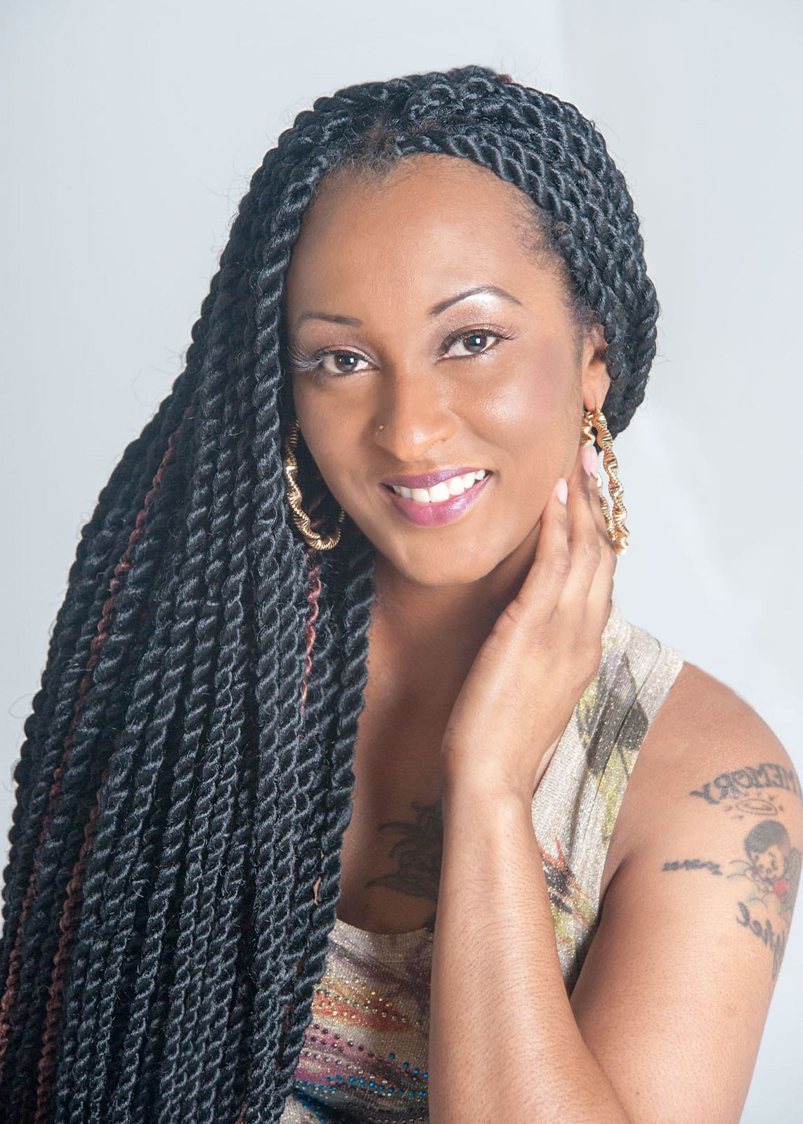 Senegalese Twists With Regard To Most Recent Twists And Braid Hairstyles (View 17 of 20)