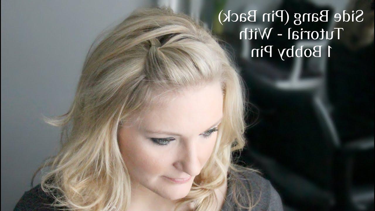Side Bang Pin Back Poof For Most Up To Date Pinned Back Side Hairstyles (View 9 of 20)