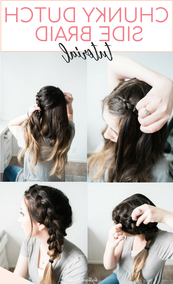 Featured Photo of Side Dutch Braided Hairstyles