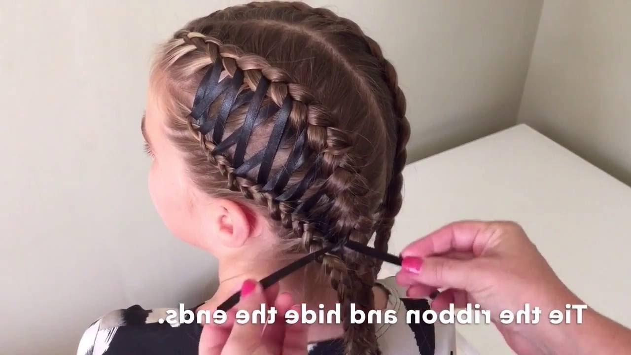 Side Corset Braid Within Best And Newest Corset Braided Hairstyles (View 8 of 20)