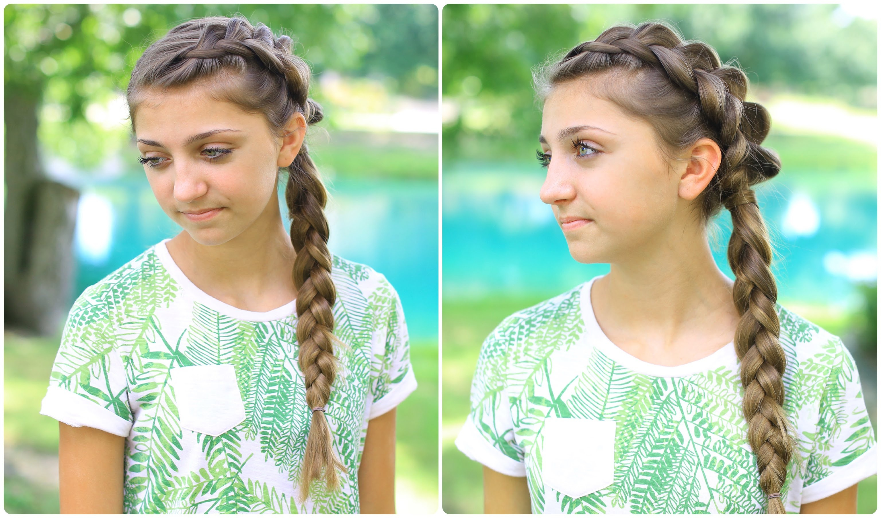 Side Dutch Braid Combo (View 14 of 20)