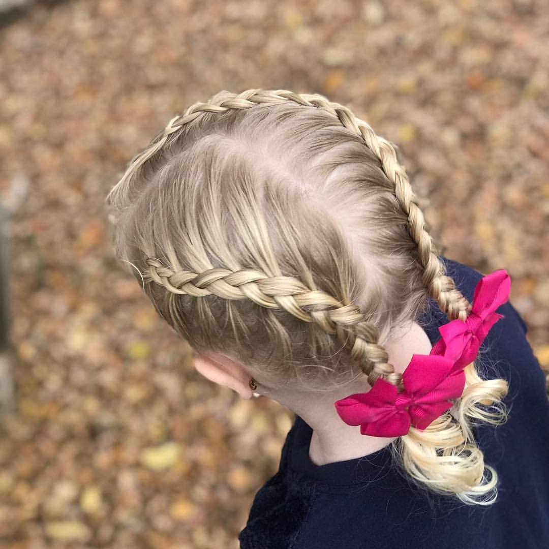 Side Part Dutch Braid Pigtails (View 17 of 20)