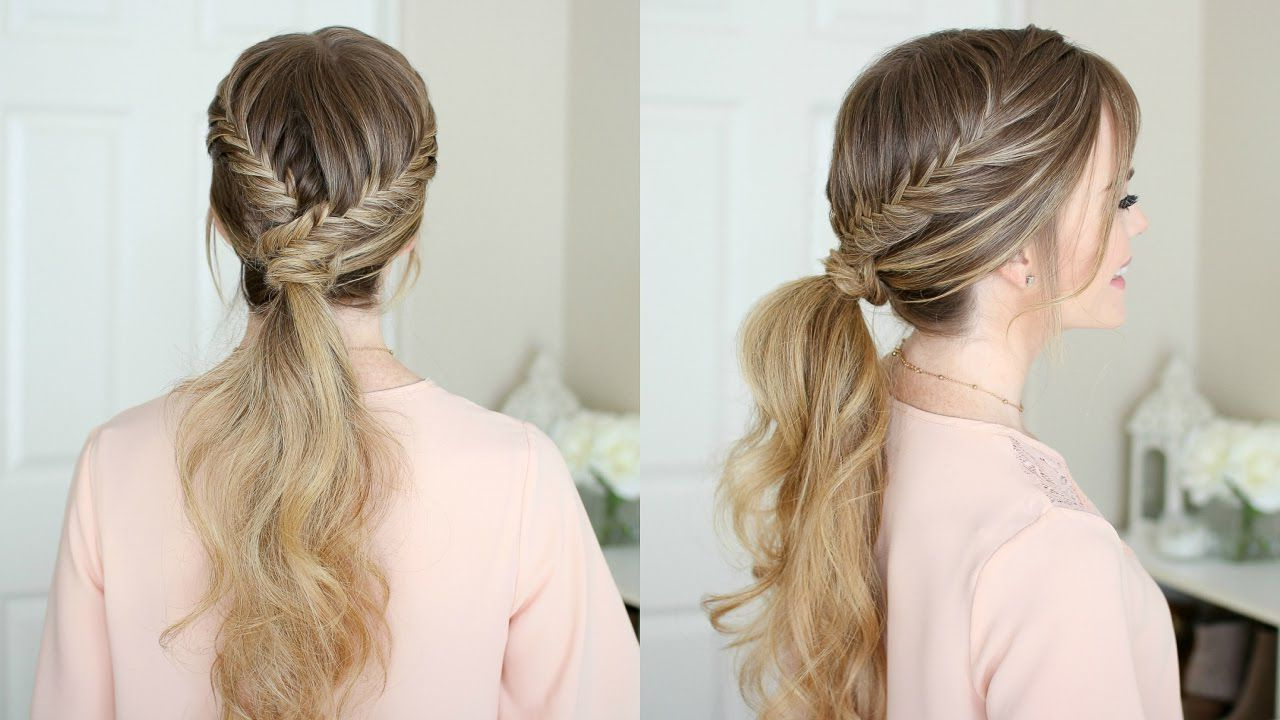 Style – Ears In Popular Wrapping Fishtail Braided Hairstyles (View 17 of 20)