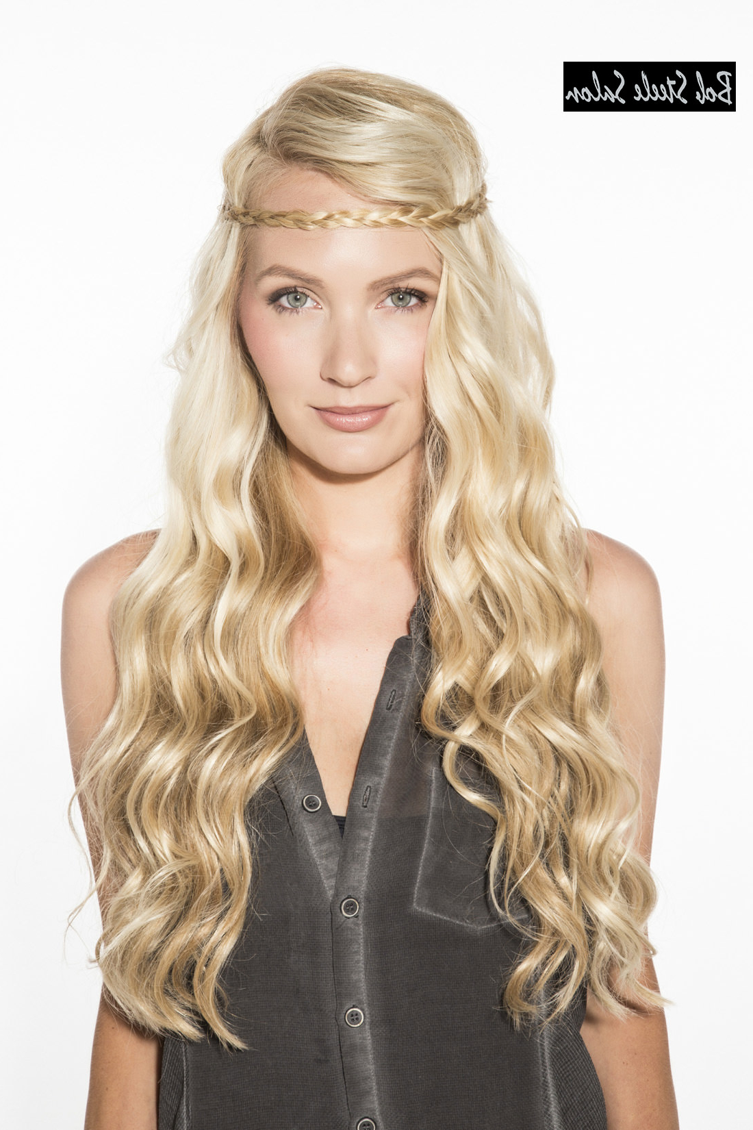 Styles Weekly Intended For Widely Used Headband Braided Hairstyles With Long Waves (View 20 of 20)