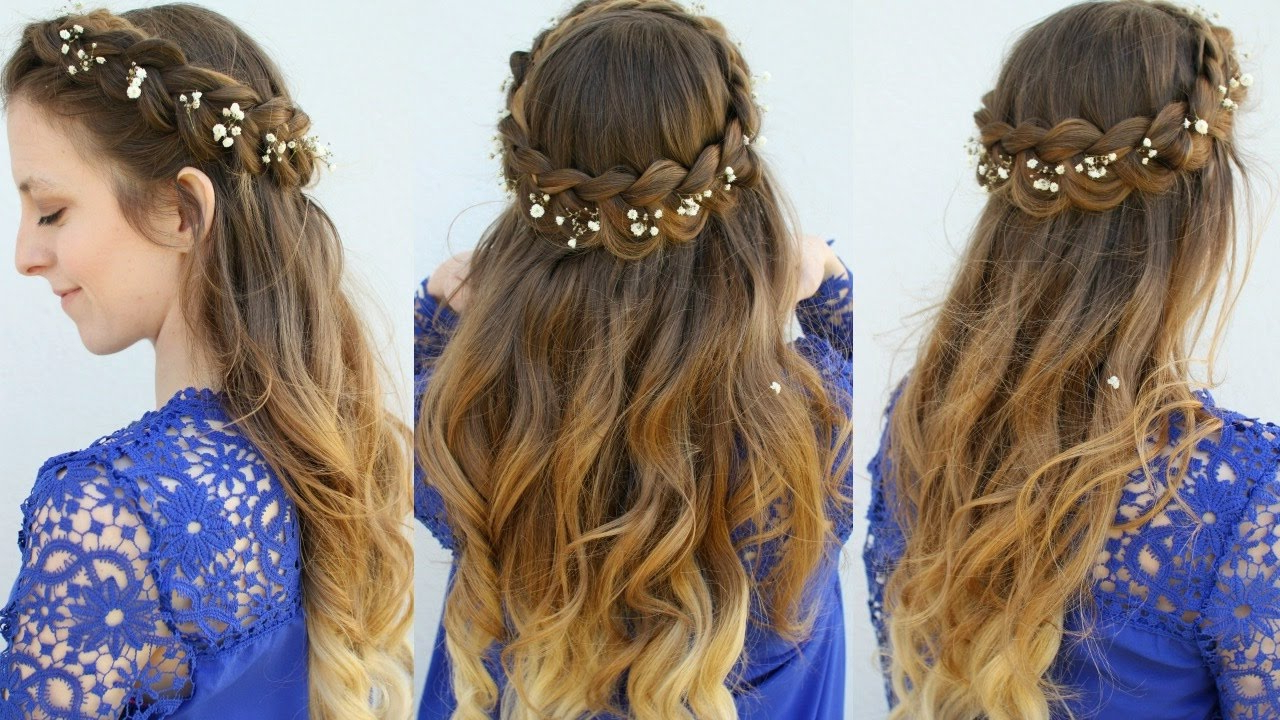 Summer Hairstyles 2017 Intended For Newest Mermaid Crown Braid Hairstyles (View 11 of 20)