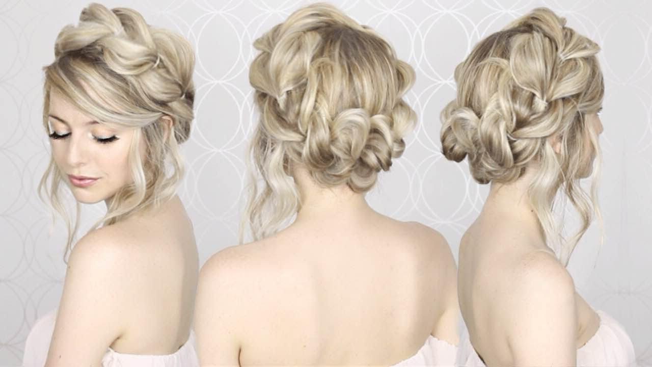 Summer Inspired, Long, Medium Hair Regarding Most Up To Date Crowned Braid Crown Hairstyles (View 16 of 20)