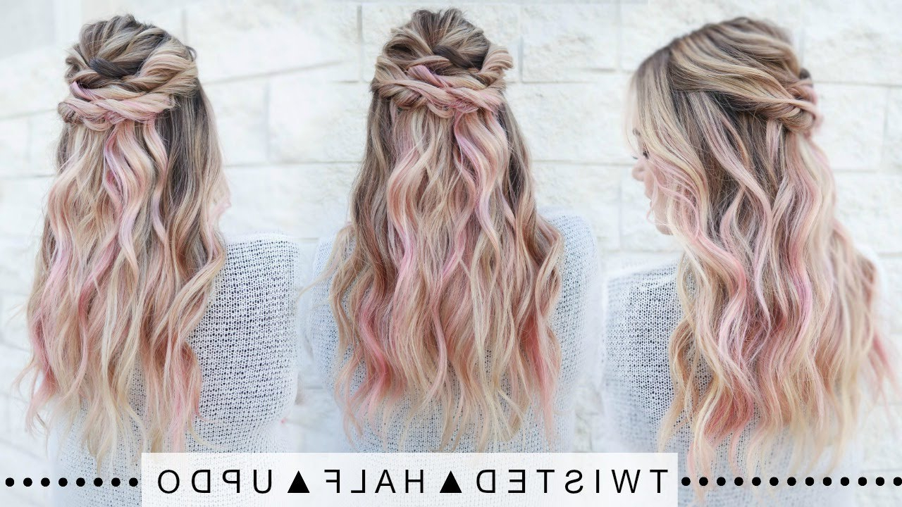 Super Easy! Inside Current Pastel Colored Updo Hairstyles With Rope Twist (View 18 of 20)