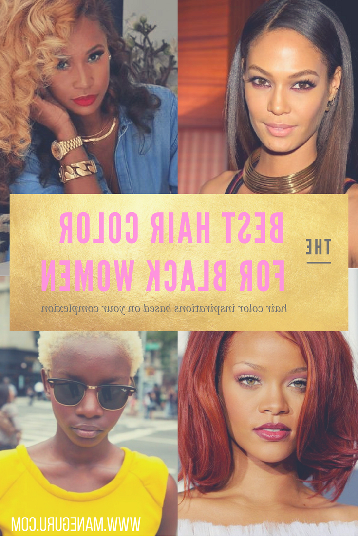 The Best Hair Color For Black Women – Mane Guru With Regard To Most Recent Red And Yellow Highlights In Braid Hairstyles (Gallery 20 of 20)