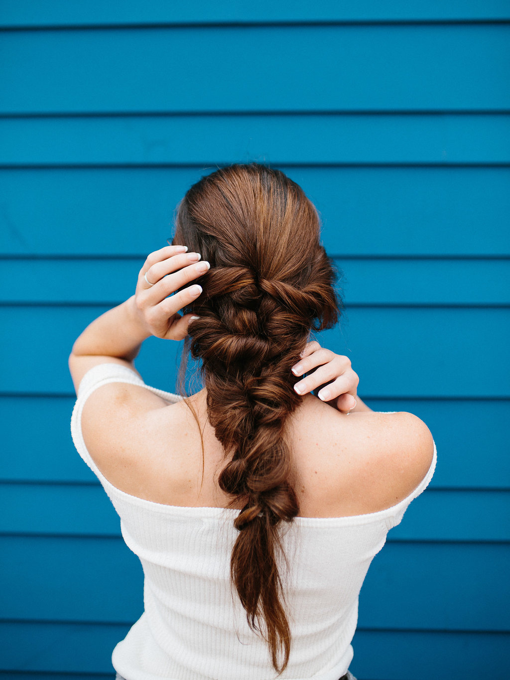The Easiest Mermaid Braid Hair Tutorial – The Effortless Chic Regarding 2020 Twisted Mermaid Braid Hairstyles (View 13 of 20)