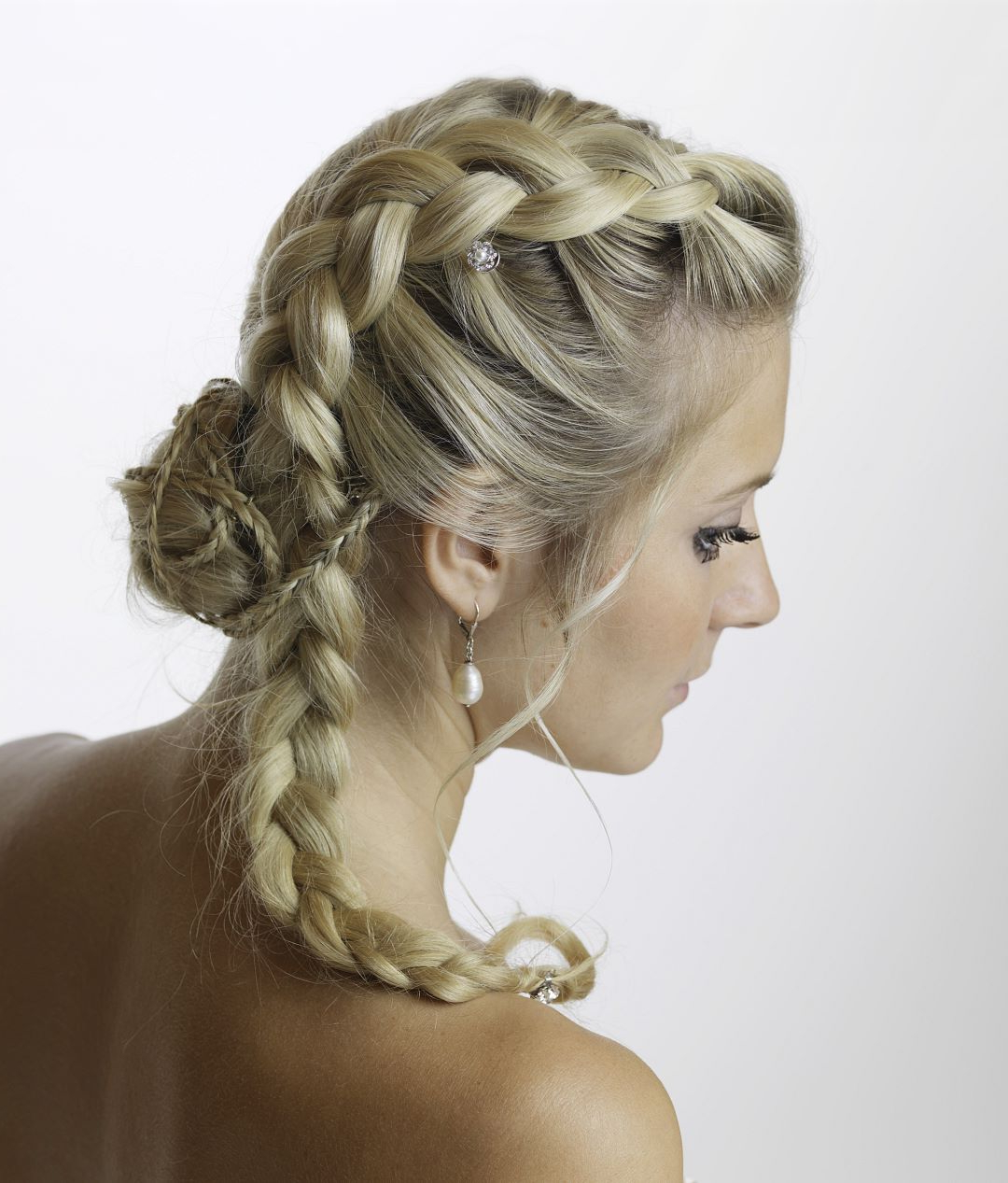 The Hairdressing Salon Inside Fashionable Whirlpool Braid Hairstyles (Gallery 15 of 20)