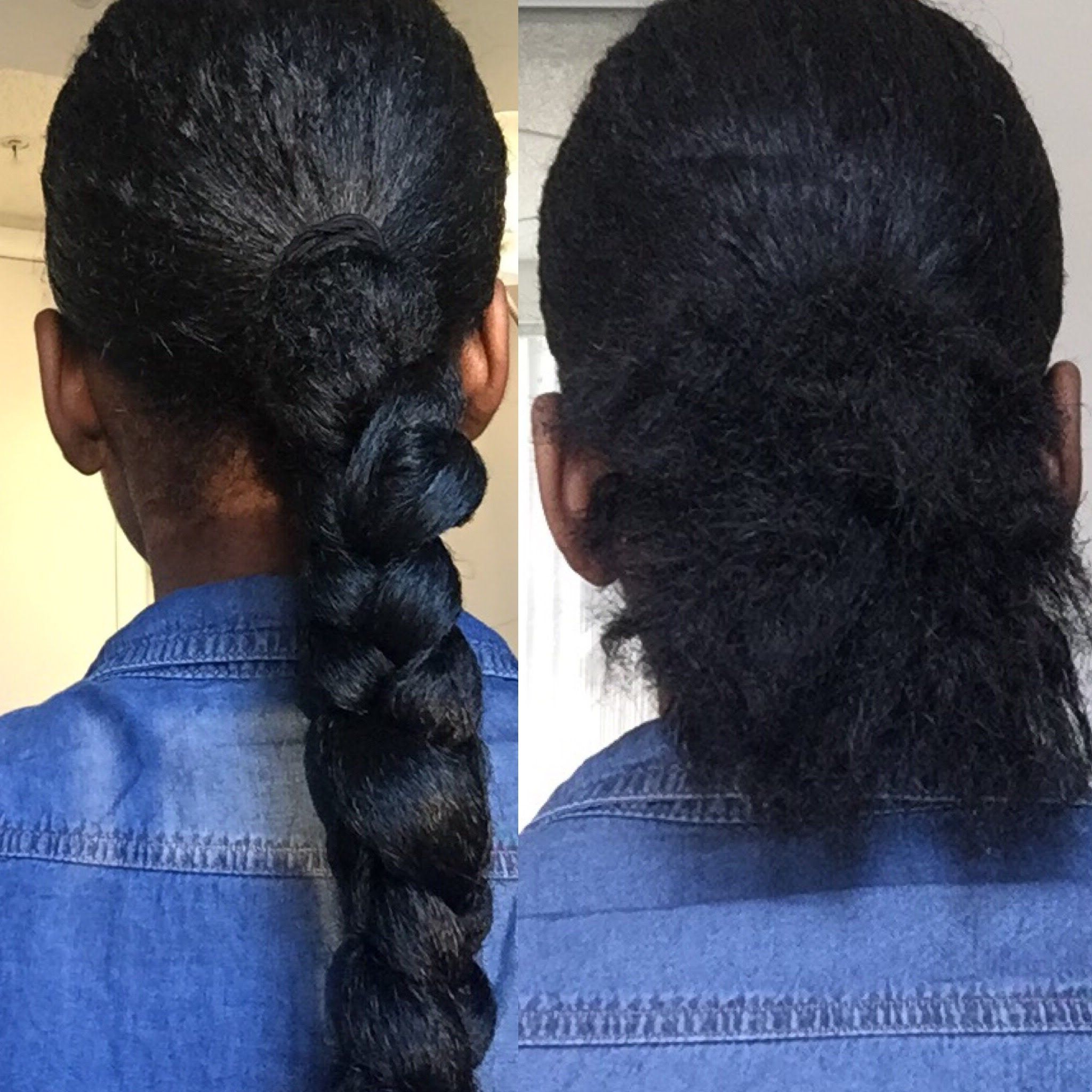 The Perfect Low Ponytail Braid With Braiding Hair (You Must For Most Up To Date Plaited Low Bun Braided Hairstyles (Gallery 11 of 20)
