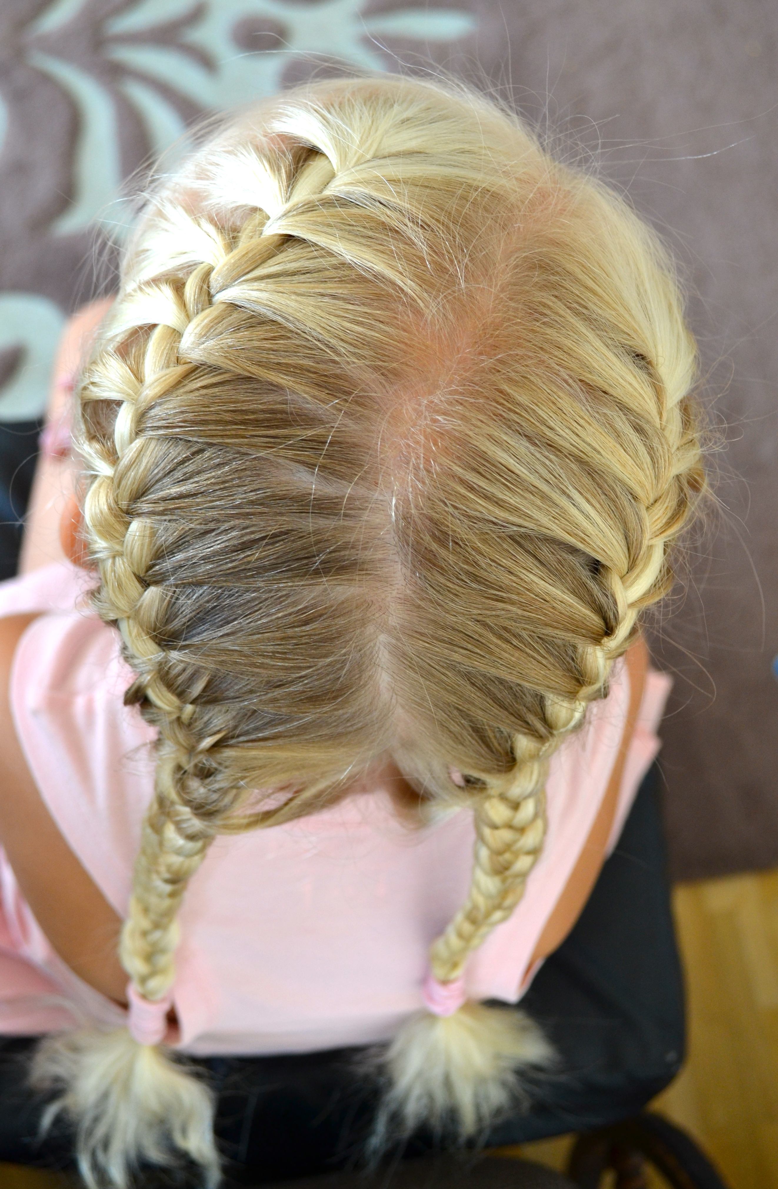 Trendy Asymmetrical French Braided Hairstyles In French Braids (View 19 of 20)